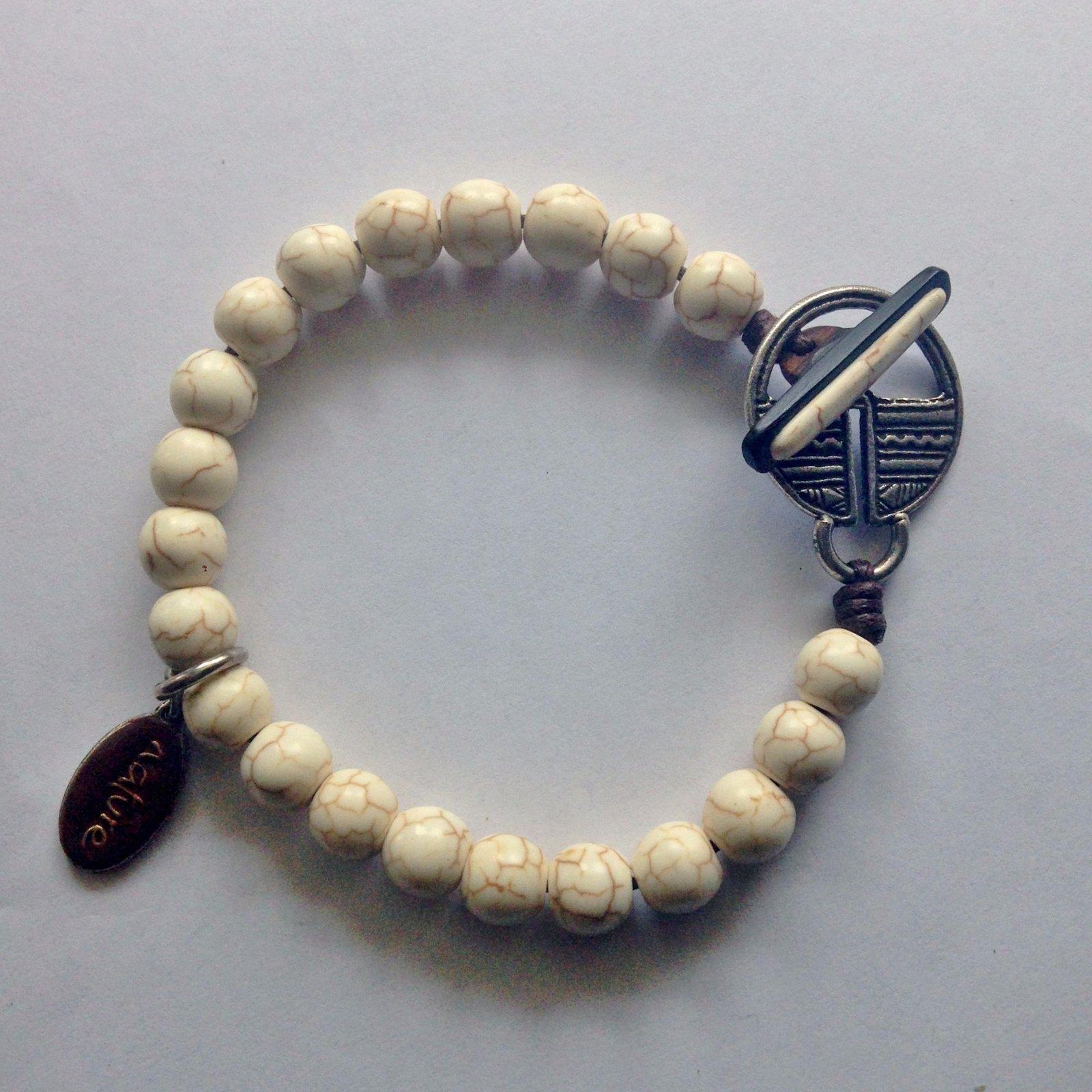 Bracelets Autre Marque Bracelet Nature Perle 201 Cru Ref