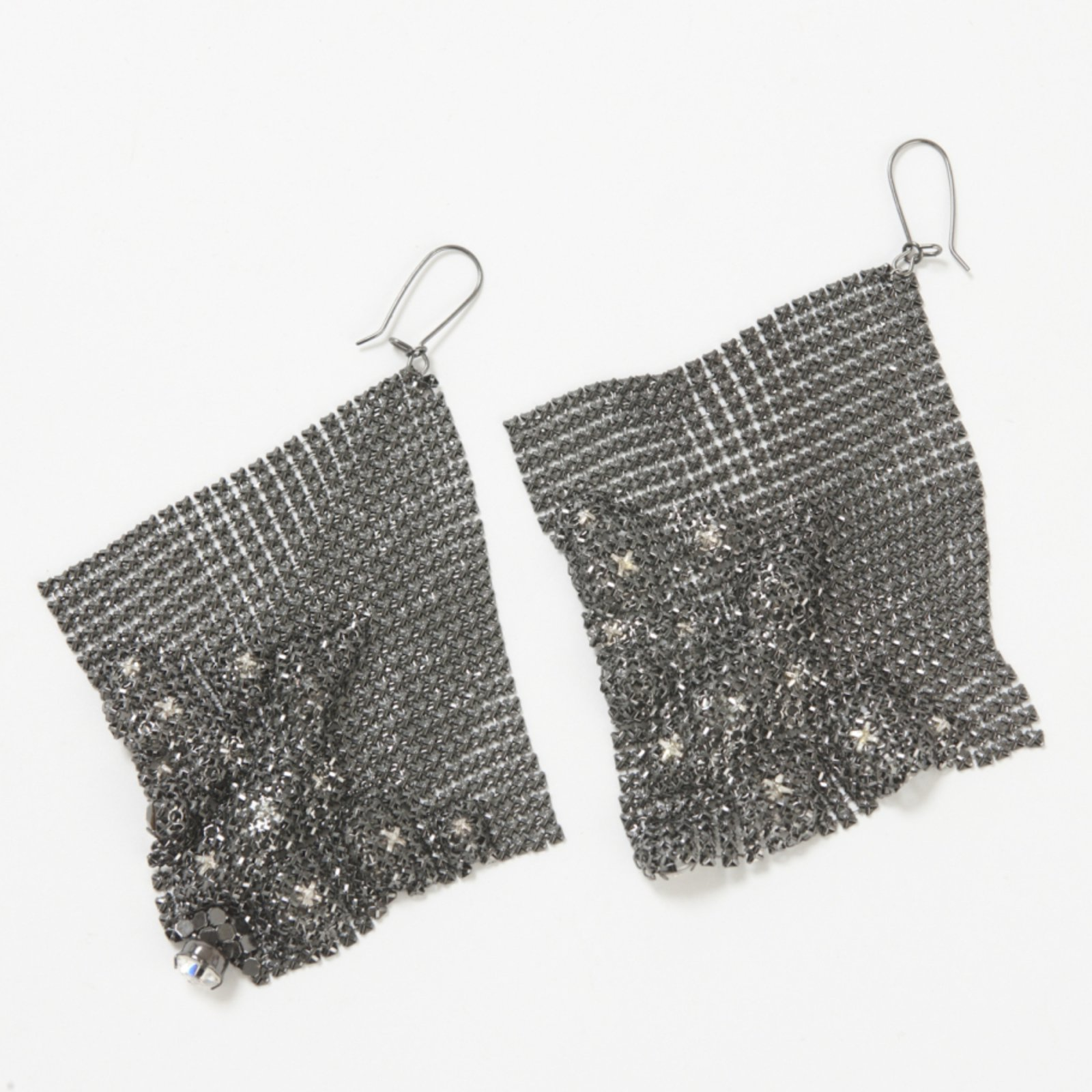 Jimmy Choo For H M Earrings Metal Silvery Ref 31463 Joli Closet