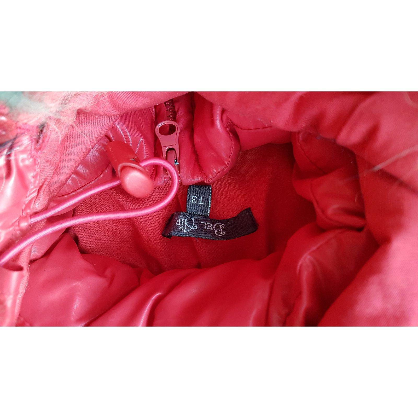 Manteaux Bel Air doudoune rouge Polyester Rouge ref.32939