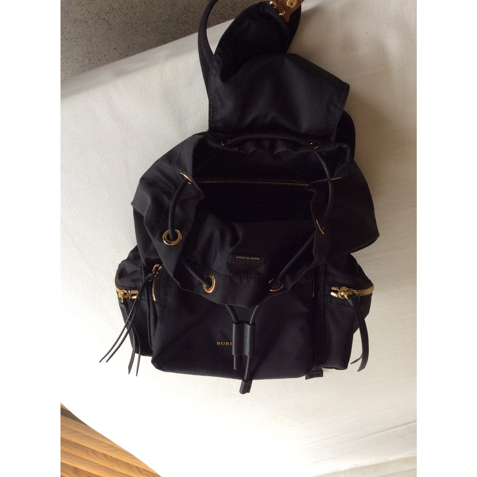 Burberry Backpack Backpacks nylon Black ref.33615 - Joli Closet a51973d7aa