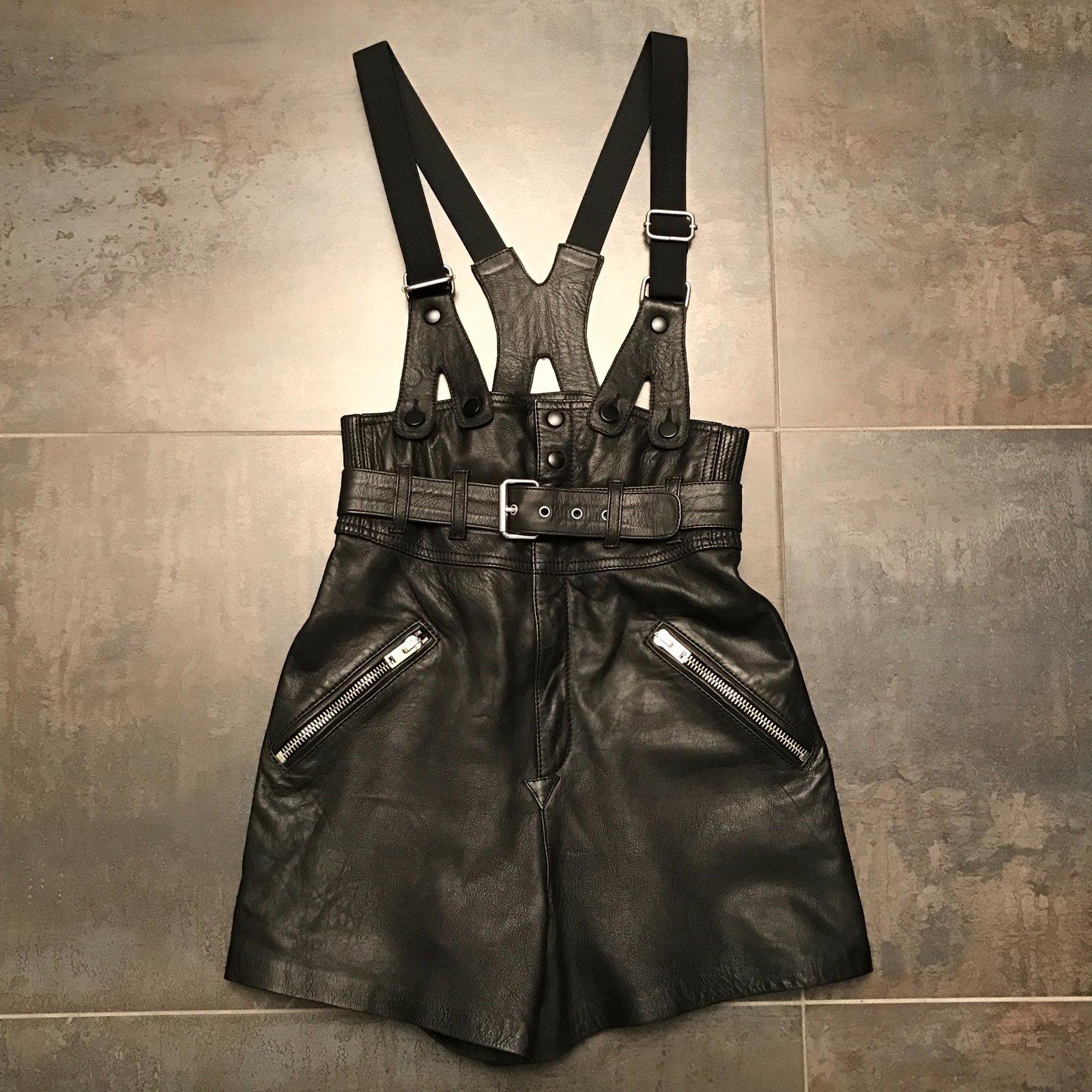 d1cc8191e9 Shorts The Kooples Shorts Cuir Noir ref.33769 - Joli Closet