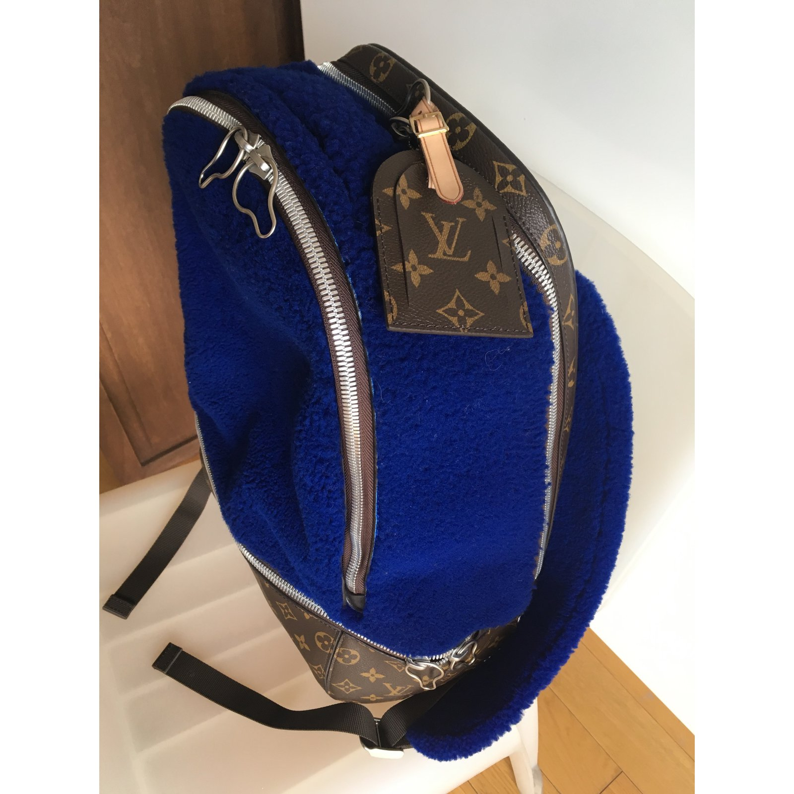88c371ac23aa Louis Vuitton Backpacks Backpacks Other Blue ref.33950 - Joli Closet
