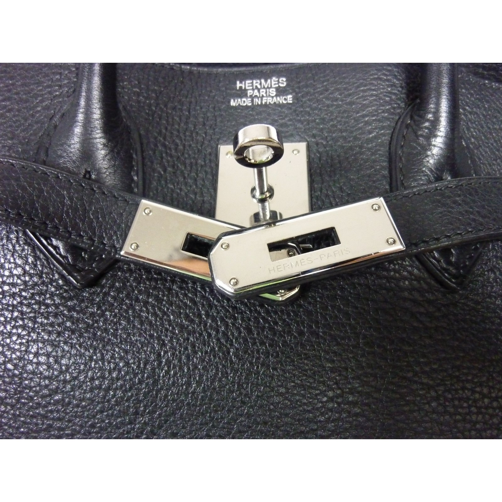 Sacs à main Hermès Sac à main Hermès Birkin 35 en cuir Togo noir en  excellent état! Cuir Noir ref.33970 - Joli Closet 3d6c1a8a8fc