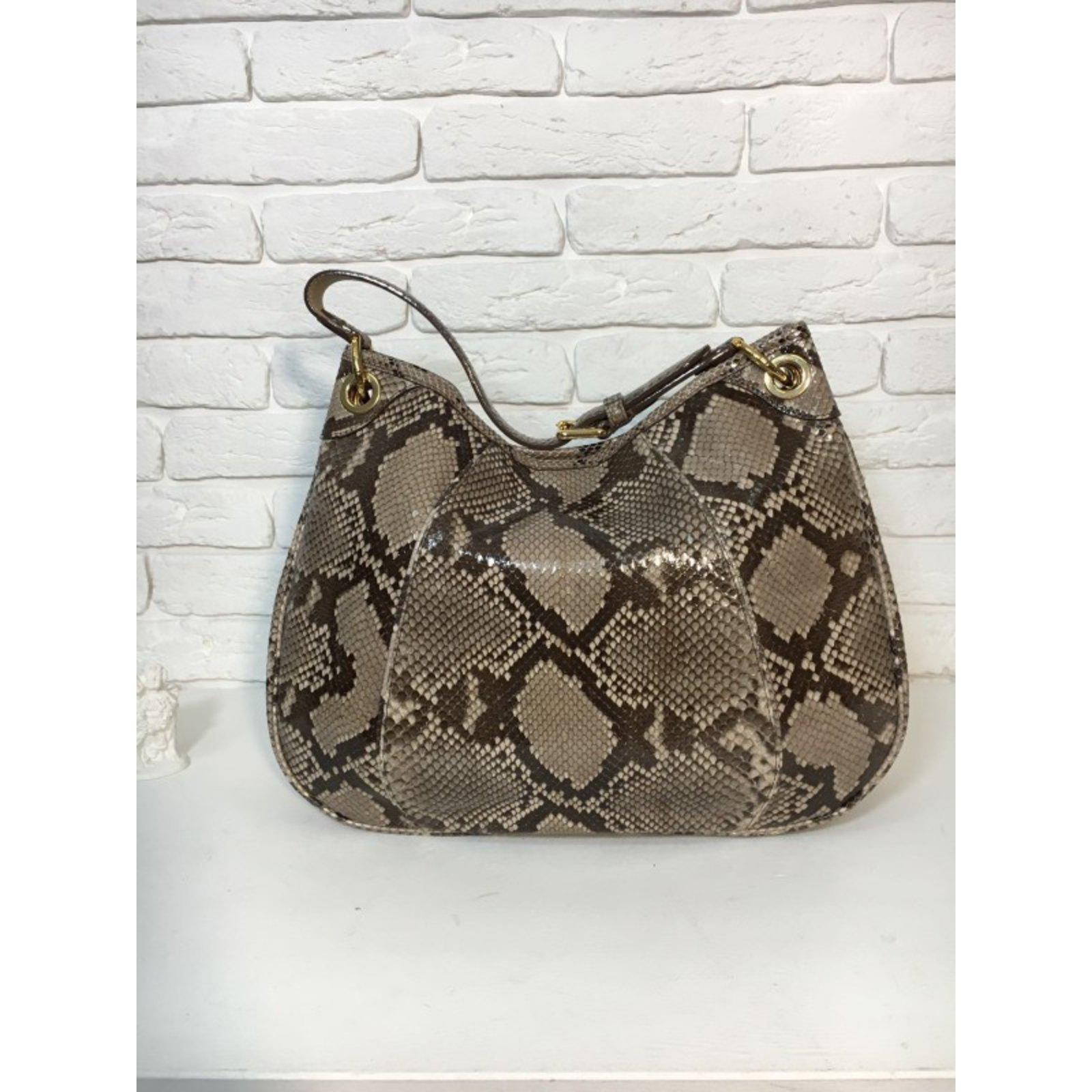 a2388a1ec100 Louis Vuitton Limited Edition Python Galliera Smeralda GM Handbags Exotic  leather Python print ref.34142 - Joli Closet