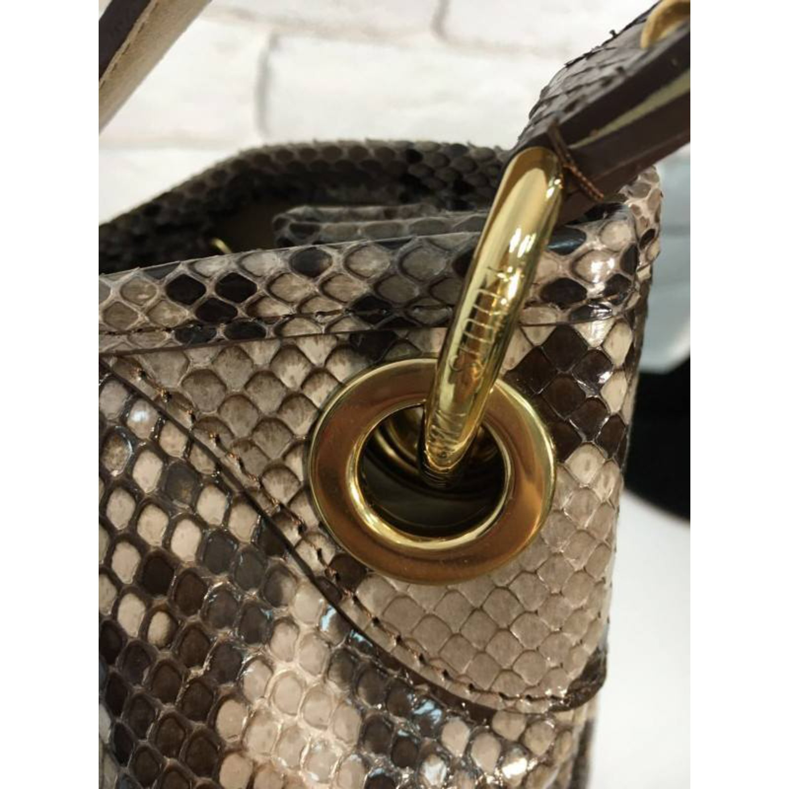 c24f2a9758dd Louis Vuitton Limited Edition Python Galliera Smeralda GM Handbags Exotic leather  Python print ref.34142 - Joli Closet