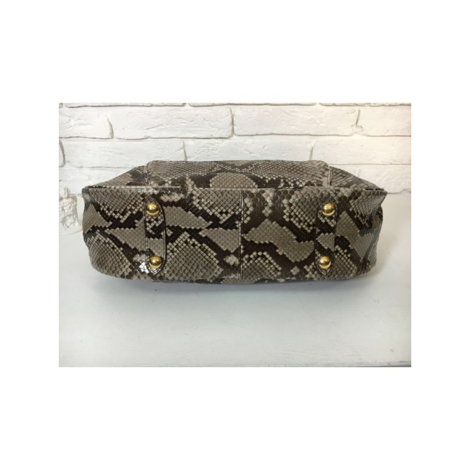 b97818e433c0 Facebook · Pin This. Louis Vuitton Limited Edition Python Galliera Smeralda  ...