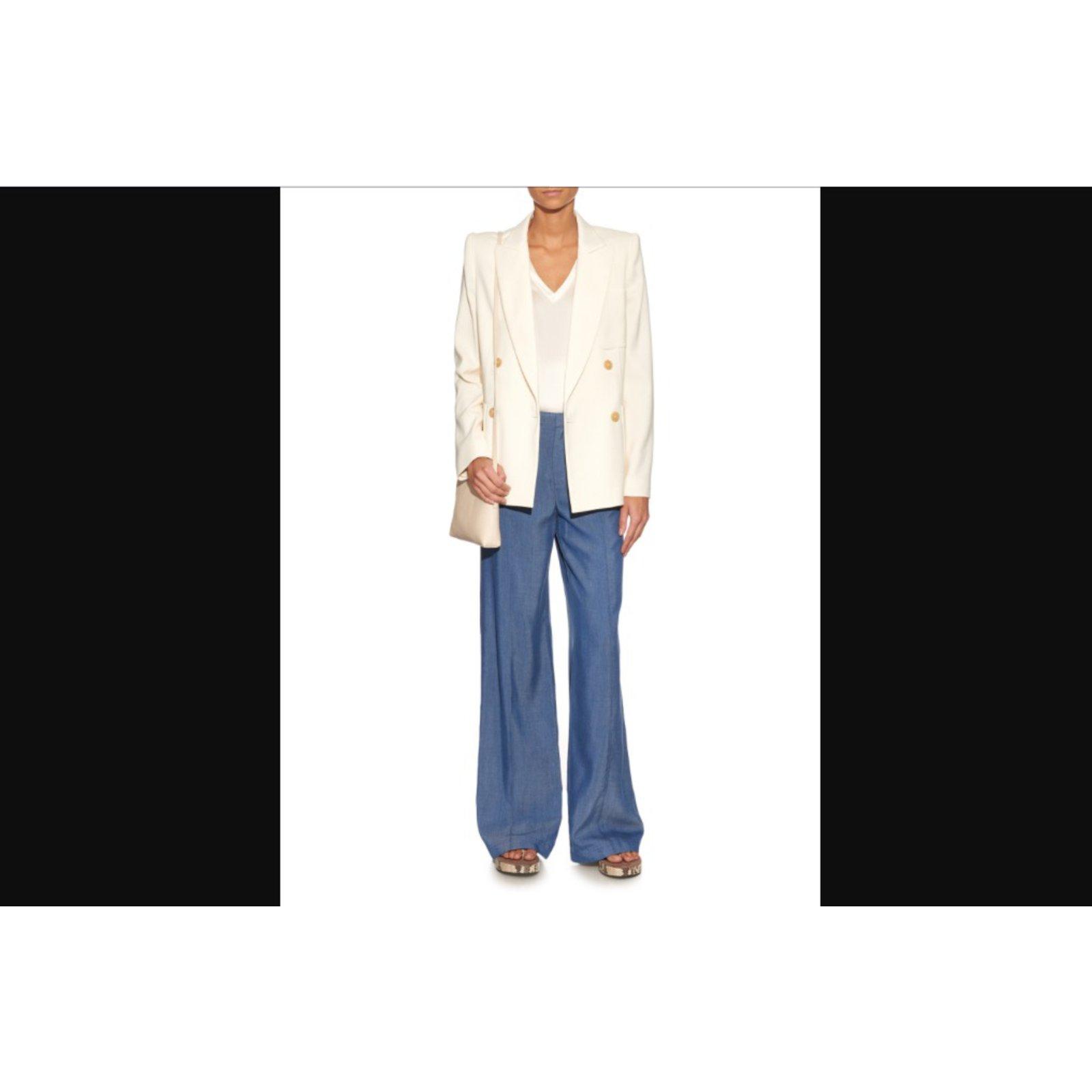 e841ca49862 Isabel Marant Jacket Jackets Viscose White ref.34291 - Joli Closet