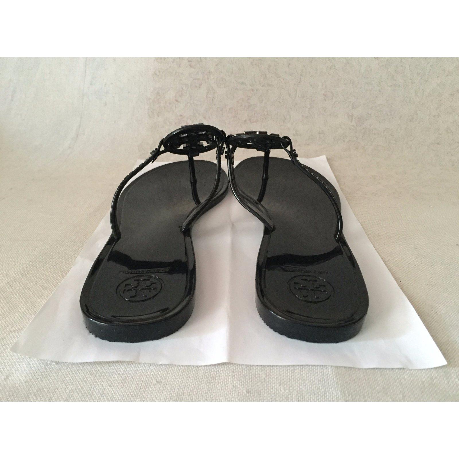 e2b6e85be05 Facebook · Pin This. Tory Burch Sandals Sandals Plastic Black ref.34336