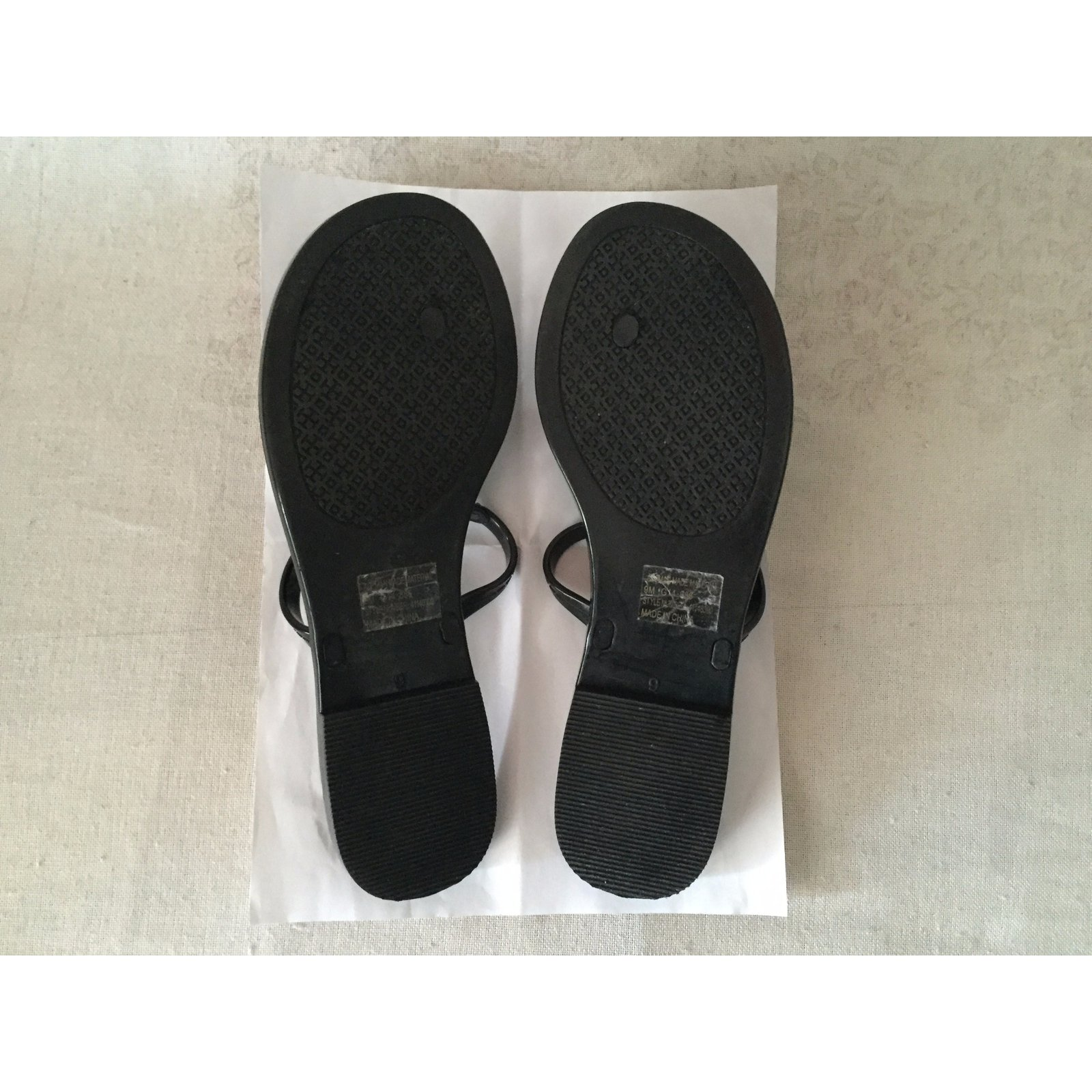 7c89e27e283 Tory Burch Sandals Sandals Plastic Black ref.34336 - Joli Closet