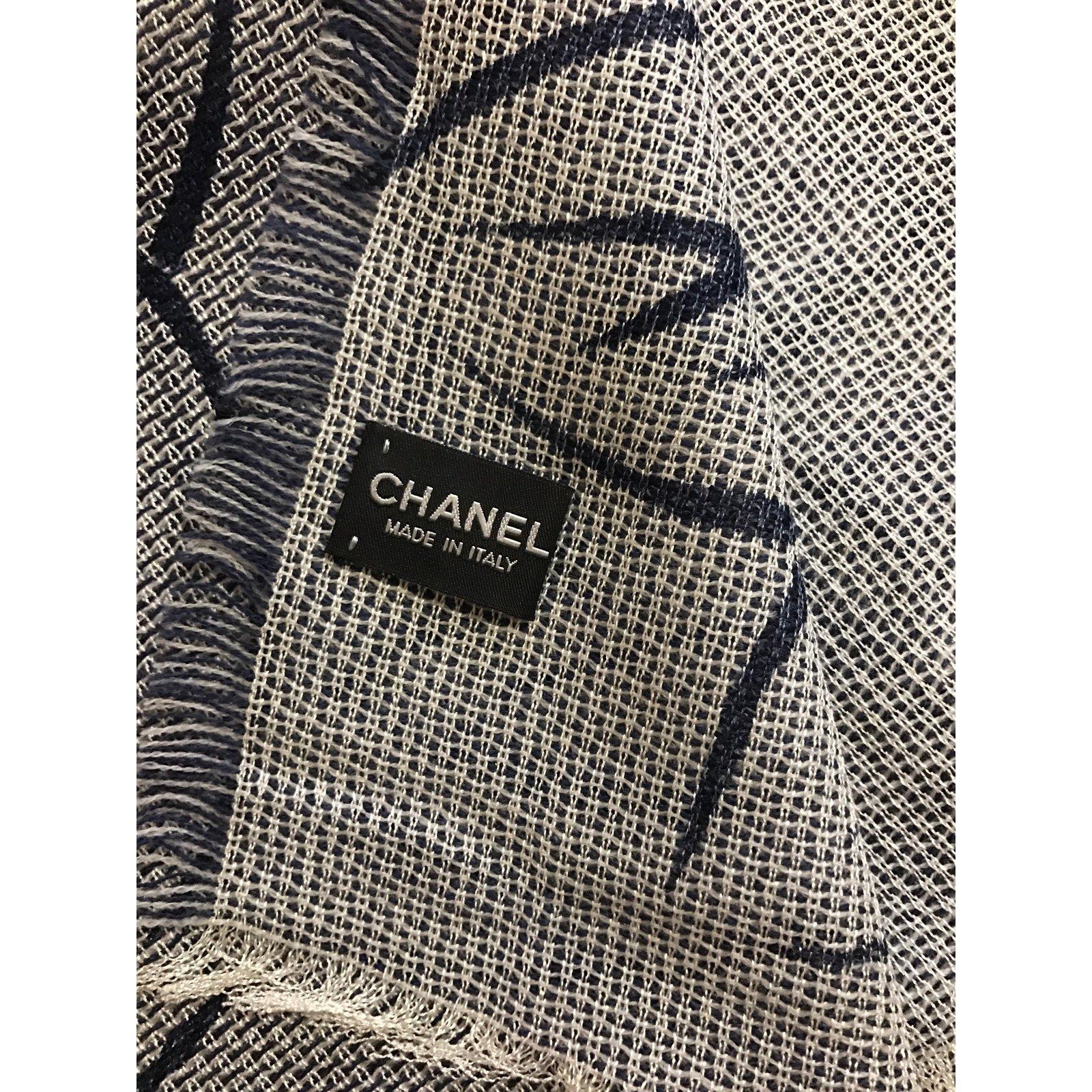 chanel scarf. chanel scarf