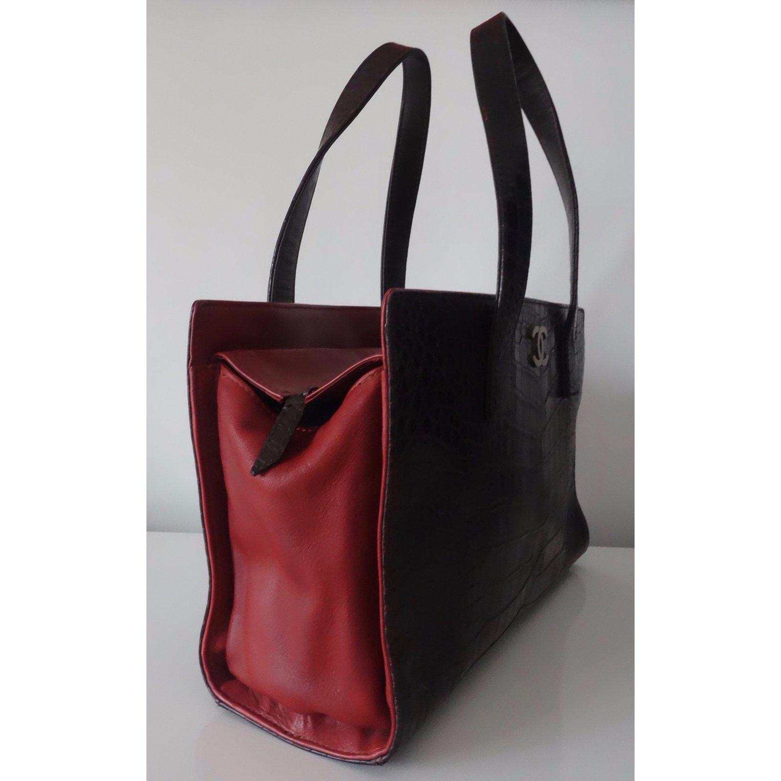 440f3d4400c6d2 Chanel SHOPPING ALLIGATOR Handbags Exotic leather Multiple colors ref.34685  - Joli Closet
