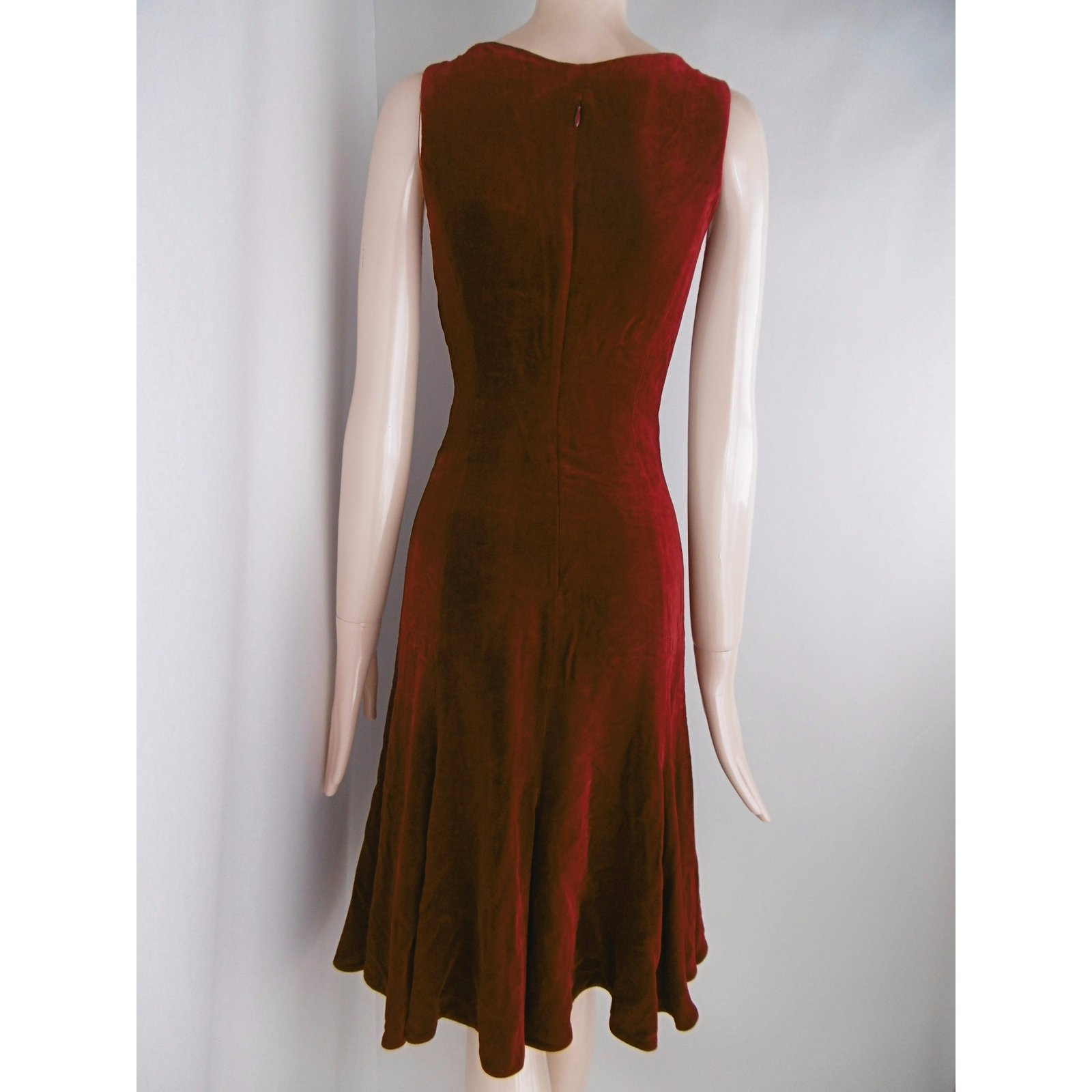 9bc0529443 Emporio Armani Emporio Armani Dress Dresses Velvet Red