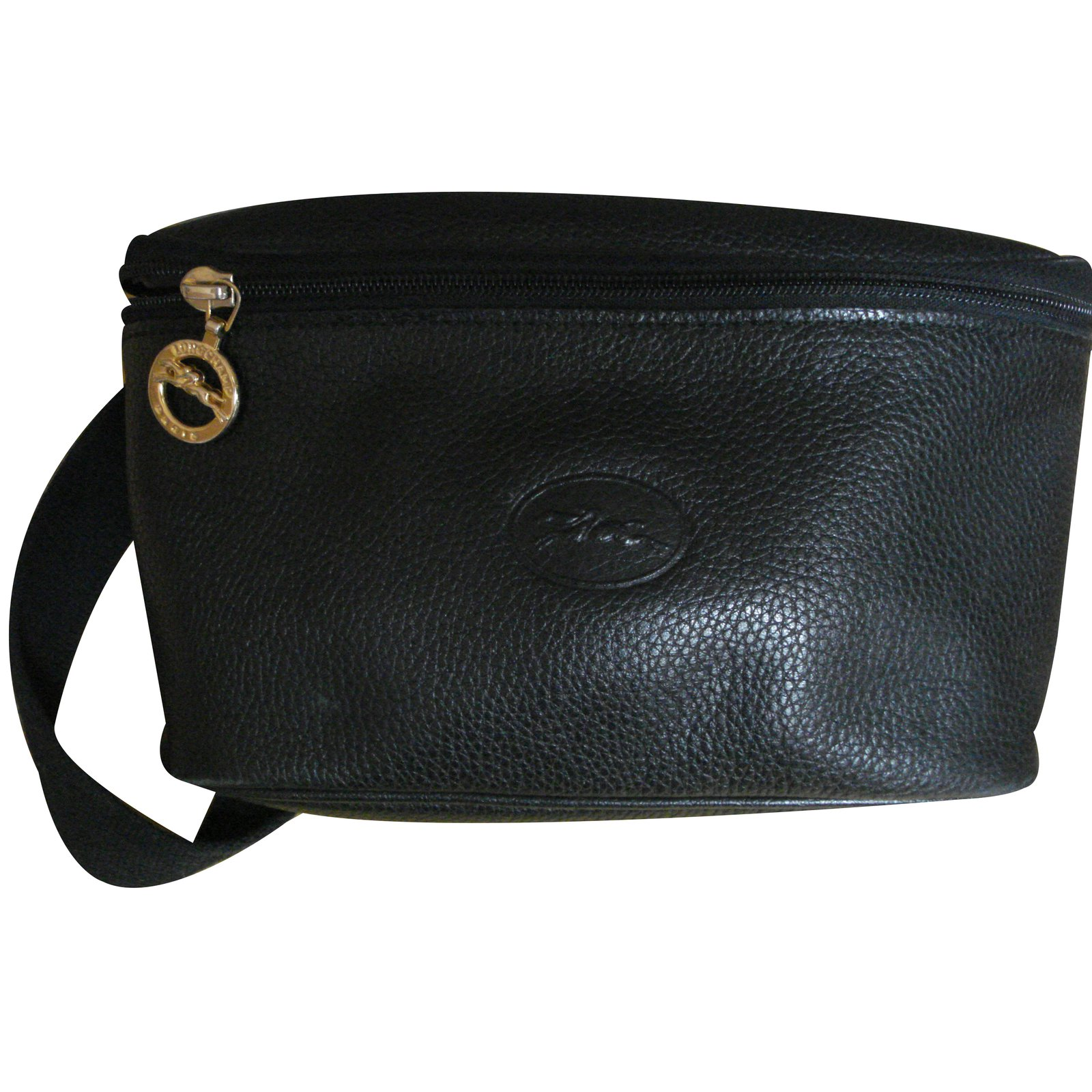 sacs longchamp sac banane cuir noir joli closet. Black Bedroom Furniture Sets. Home Design Ideas