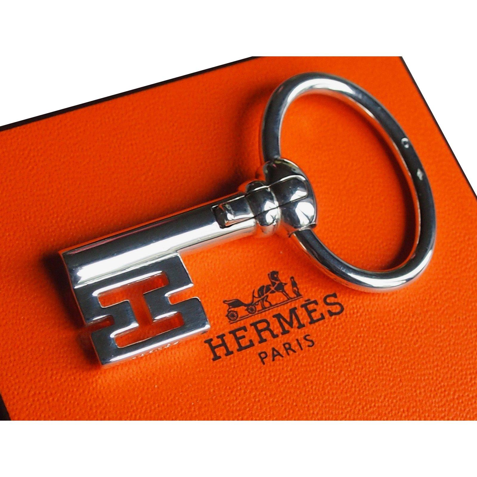 773de60636 Bijoux de sac Hermès Porte clé collector Argent Argenté ref.36292 - Joli  Closet