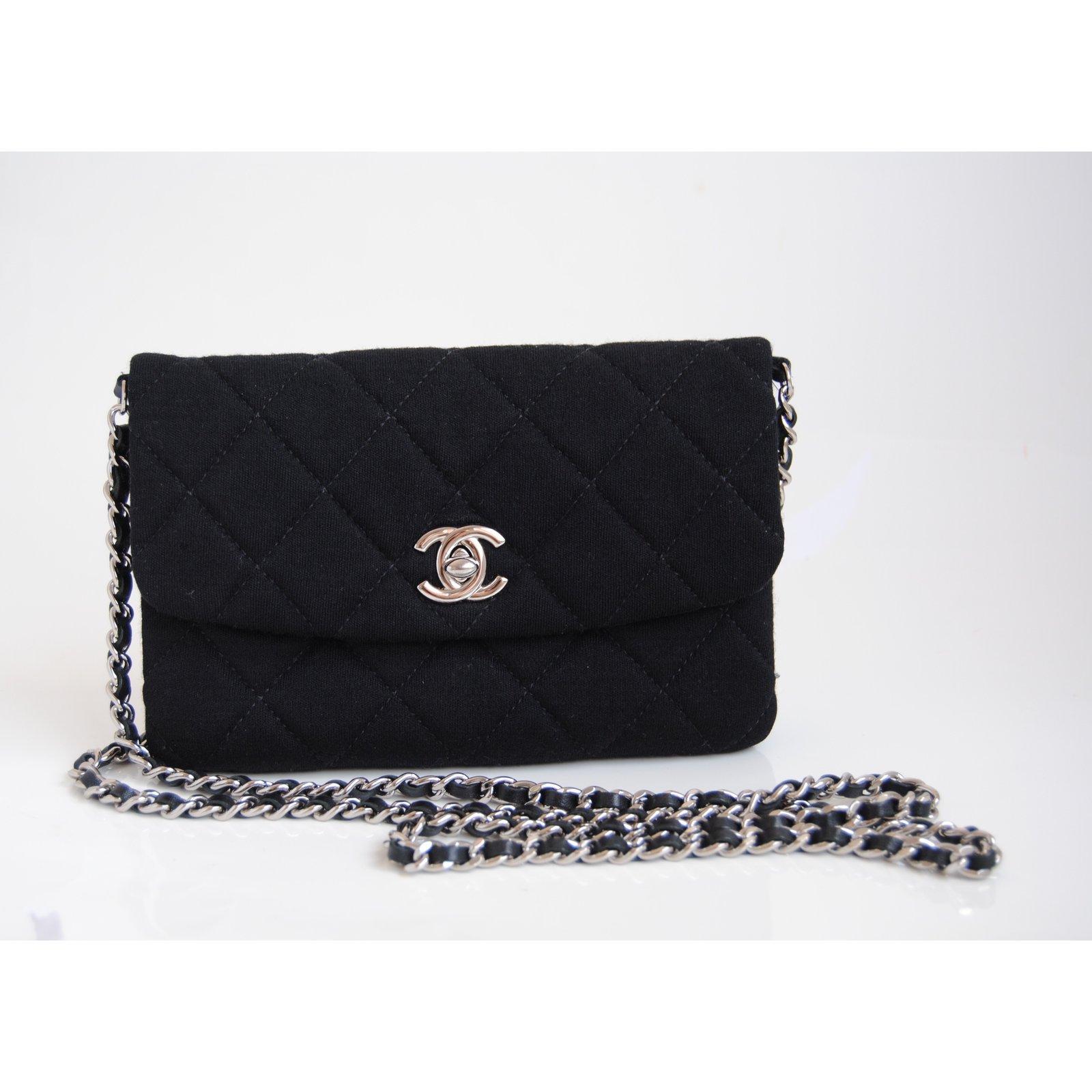 a1271215086 Chanel Timeless flap mini chanel bag Handbags Other Black ref.36690 - Joli  Closet