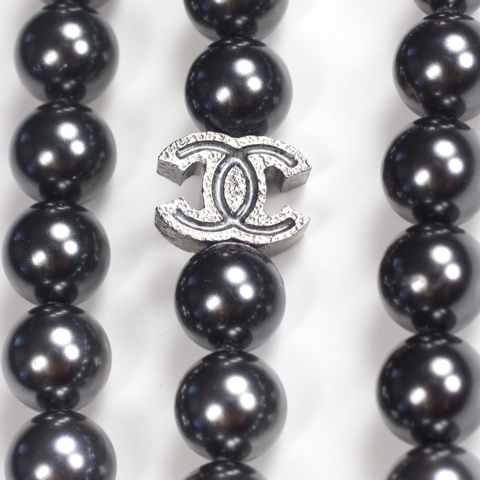 Chanel 2015 Multistrand Gradient Pearl Necklace Necklaces Rope Multiple  Colors Ref37026  Joli Closet