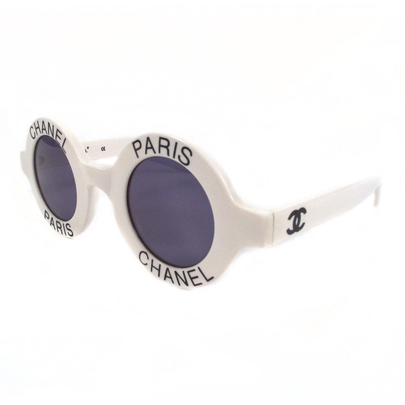 Lunettes Chanel Chanel Lunettes De Soleil Vintage Autre Autre Ref