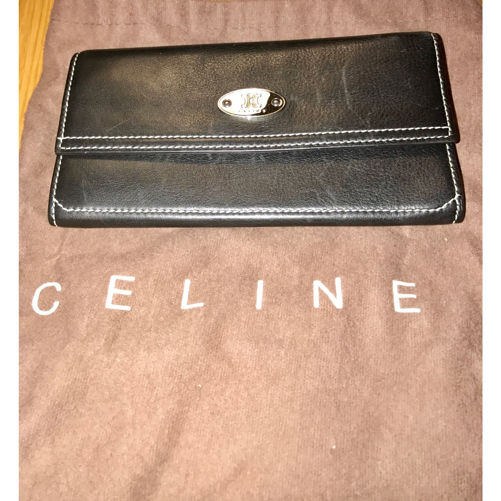 aad63f5a76c3 Celine Women's Wallet Black | Stanford Center for Opportunity Policy ...