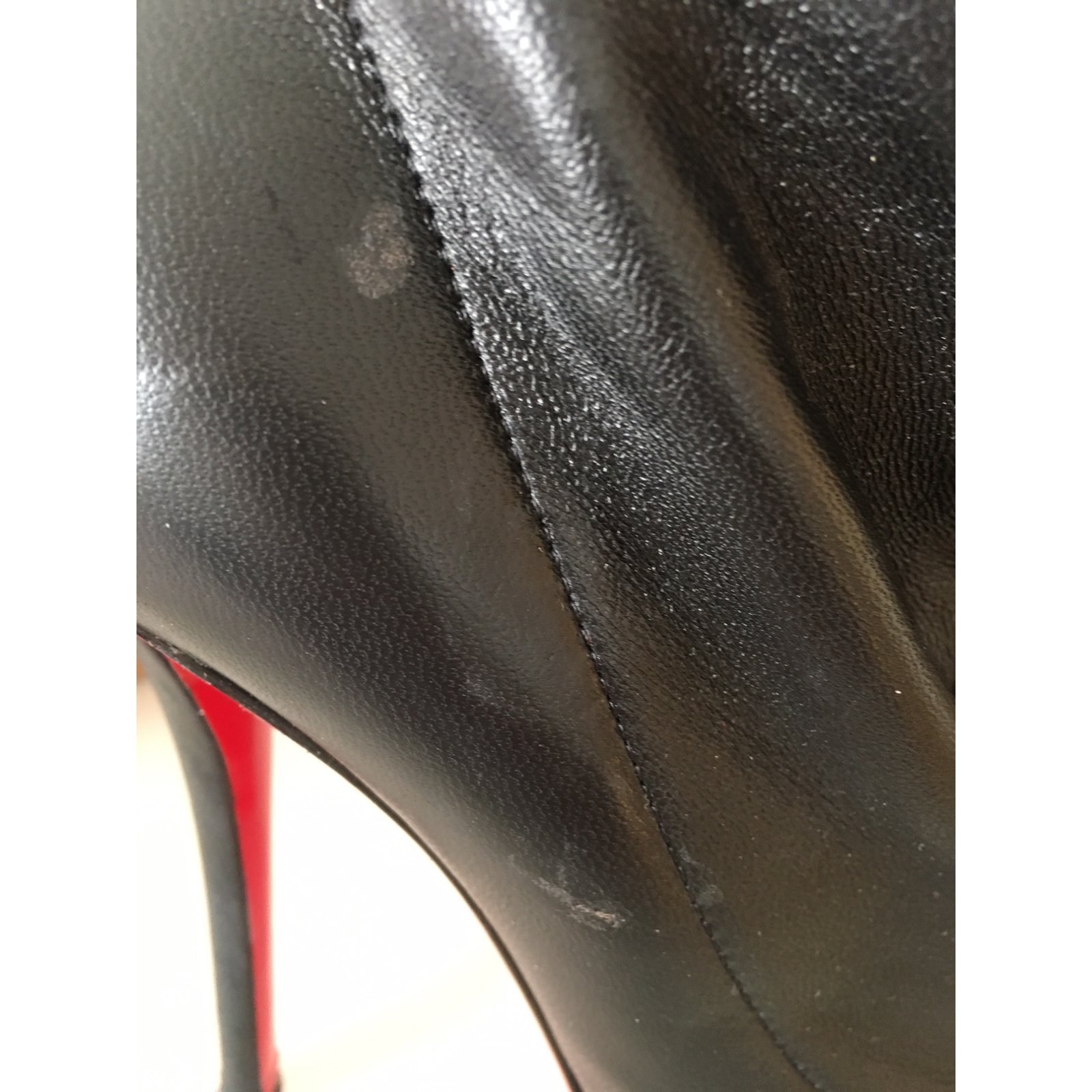 baf6e82a4791 Facebook · Pin This. Christian Louboutin TROOPISTA 120 NAPPA Boots Leather Black  ref.37442. Christian Louboutin TROOPISTA 120 ...