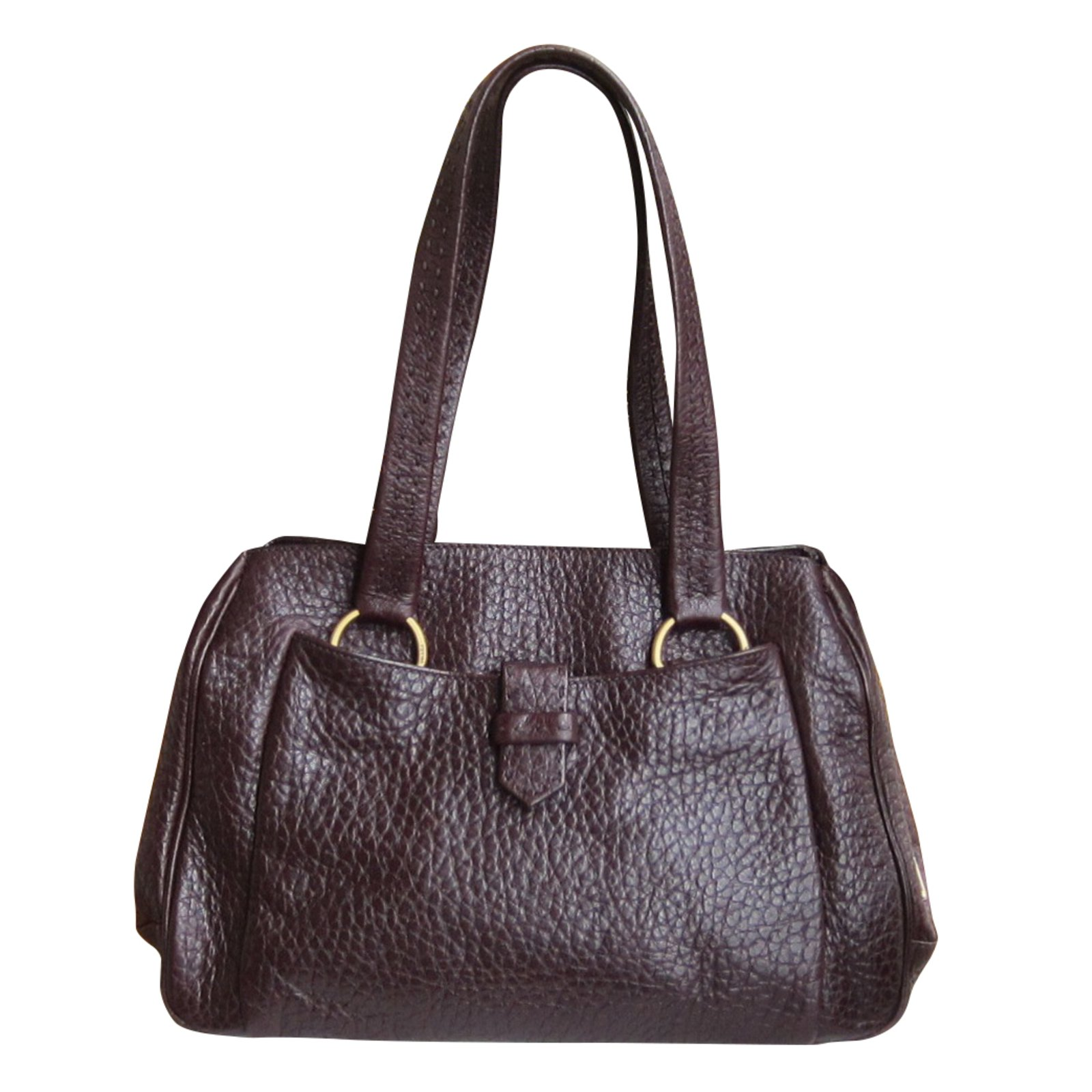 Prada Handbag Handbags Leather Brown ref.38140 - Joli Closet
