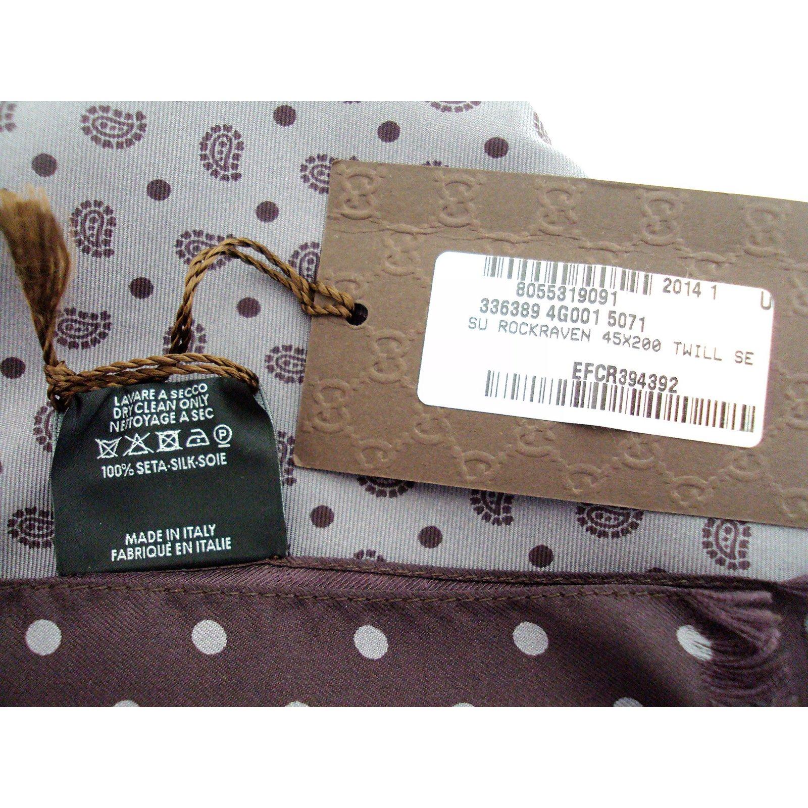 f79a0ef692cb Gucci silk scarf brand new with tags men scarves silk purple ref joli closet  jpg 1600x1600