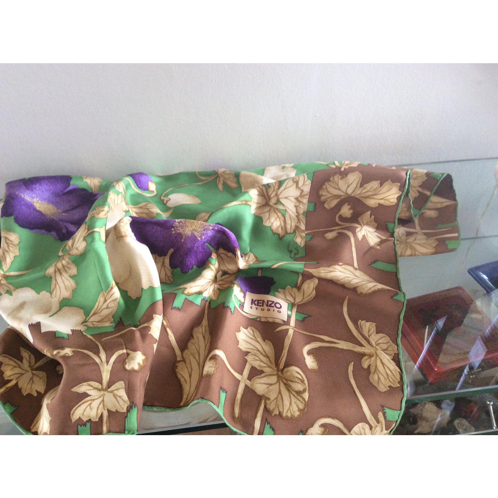 carr s kenzo carr soie multicolore joli closet. Black Bedroom Furniture Sets. Home Design Ideas