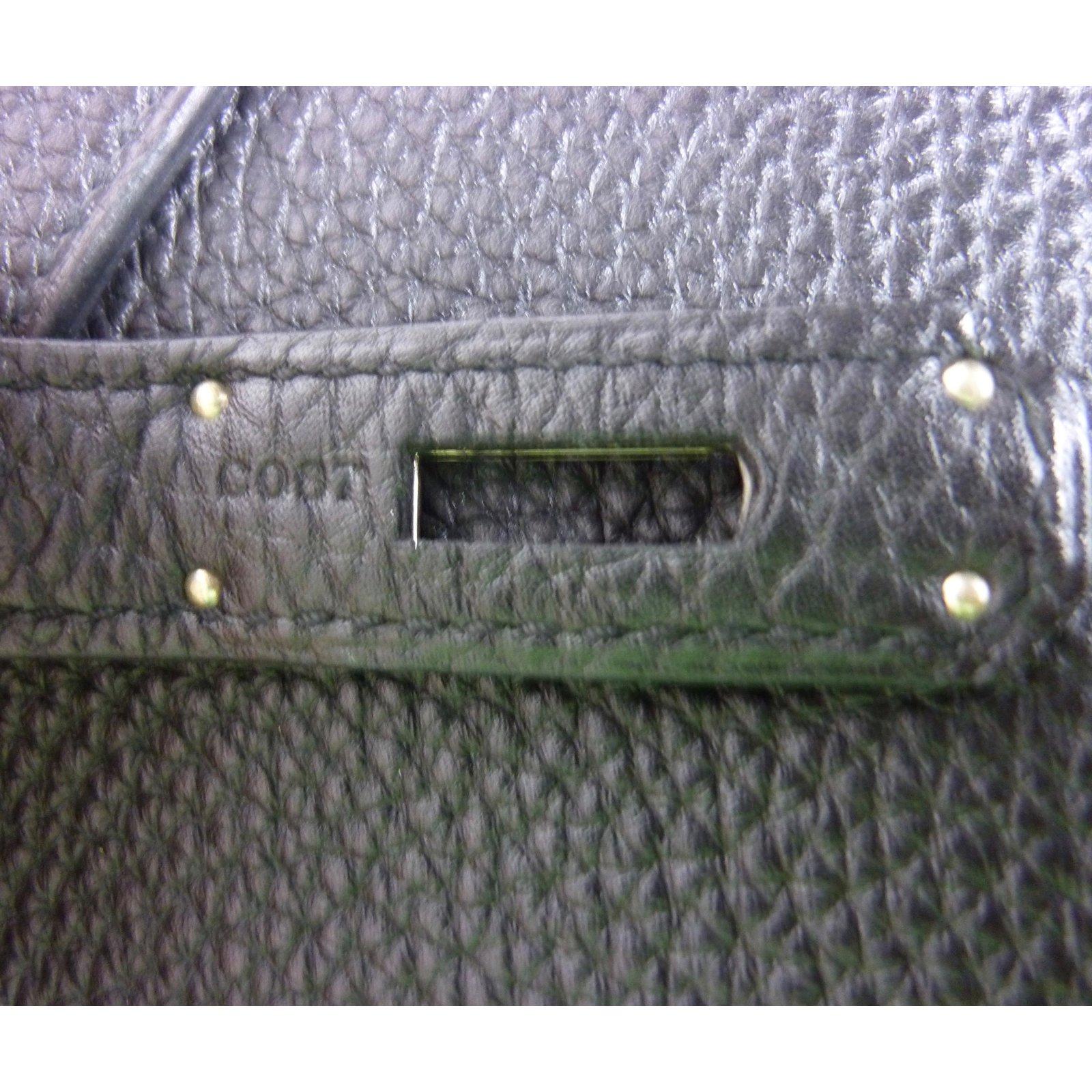 997d5d000e Sacs à main Hermès Sublime Sac Hermès Birkin 35 en cuir Togo noir / Etat  neuf. Cuir Noir ref.39341 - Joli Closet