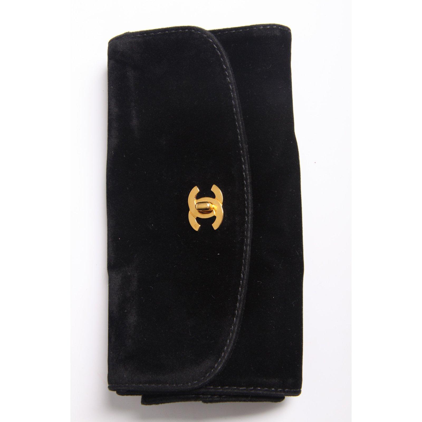 119c16d813a4 Chanel Chanel Vanity Bag Denim Vintage - blue Handbags Cloth Blue ref.39493  - Joli Closet