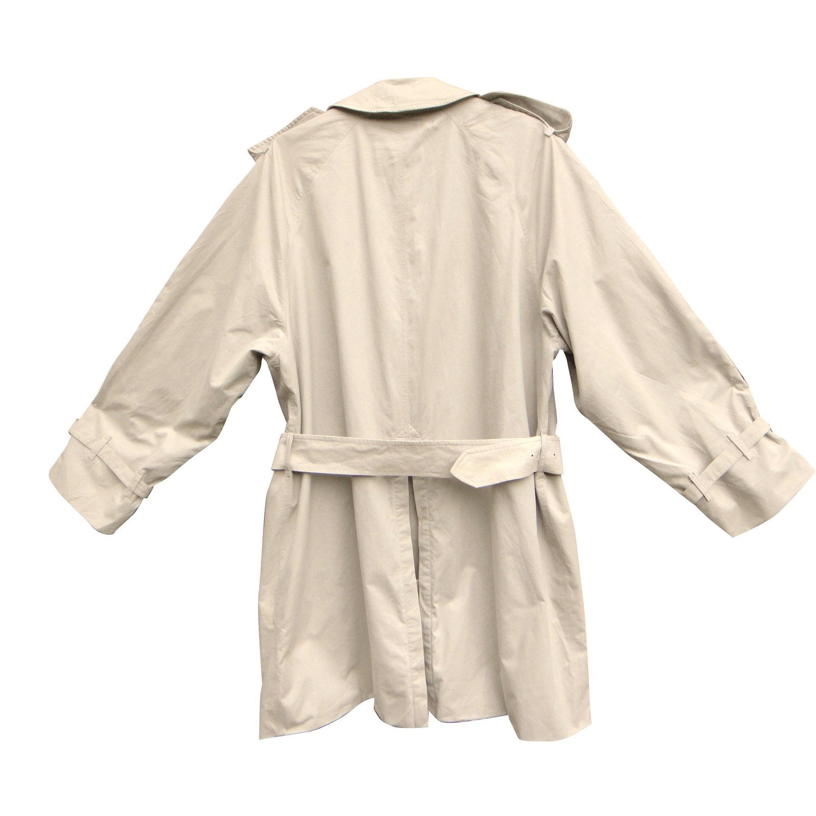 manteaux homme burberry trench coat coton beige. Black Bedroom Furniture Sets. Home Design Ideas