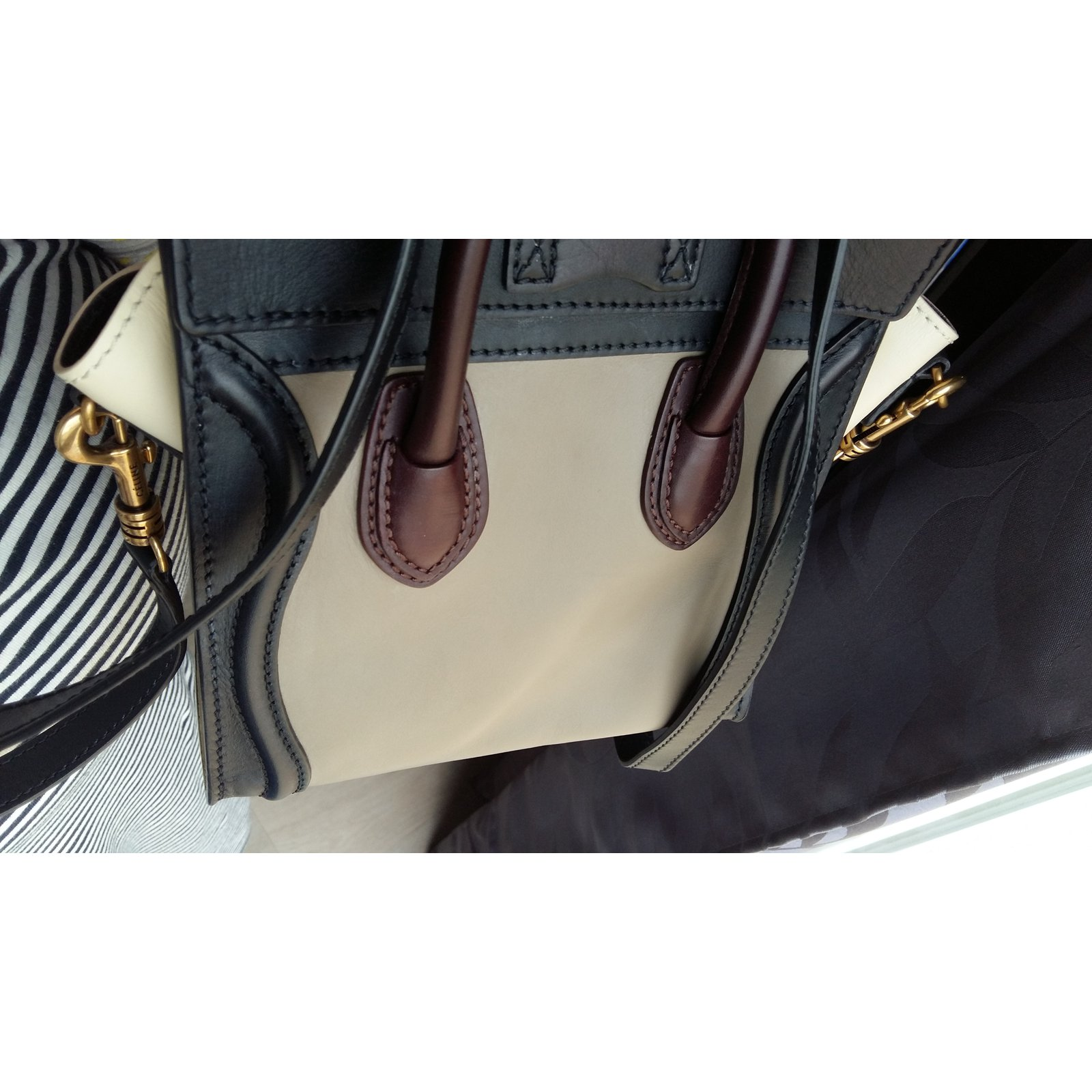 Céline nano Luggage Handbags Leather Multiple colors ref.39955 - Joli Closet 07390f9d6a