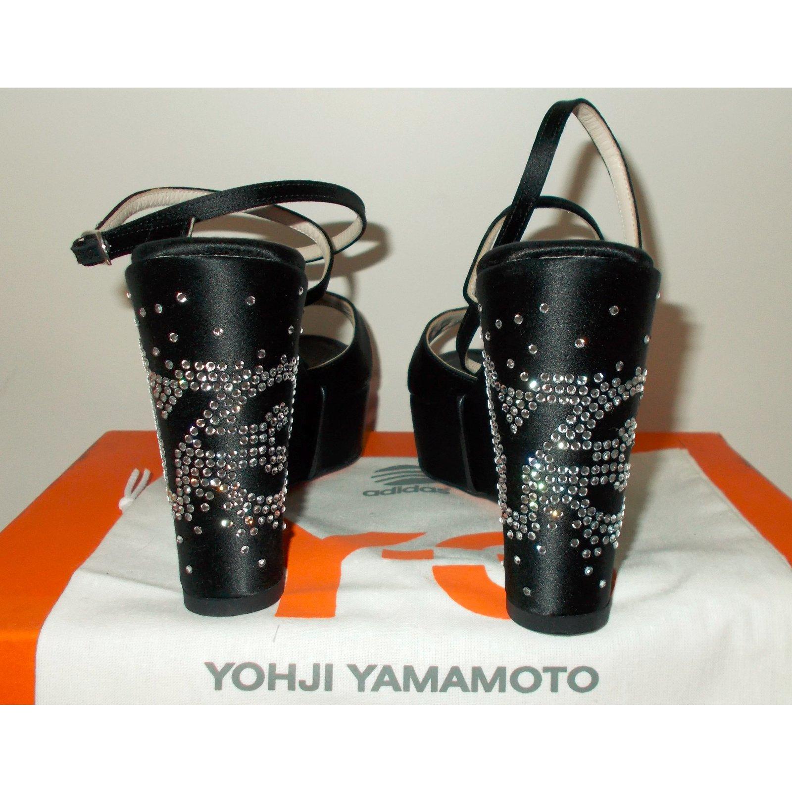 f26e69f071b8 Yohji Yamamoto Y-3 Yohji Yamamoto for Adidas Sandals Sandals Leather ...