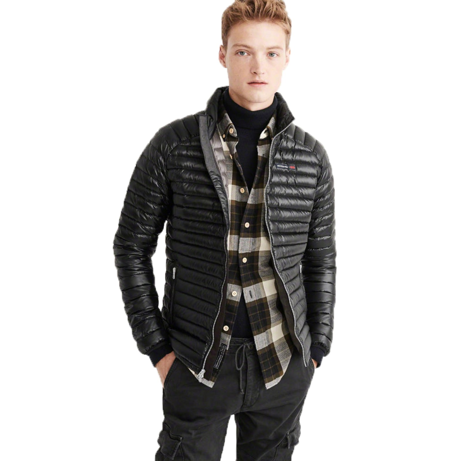 Abercrombie & Fitch Ultra Lightweight Down Puffer Jacket