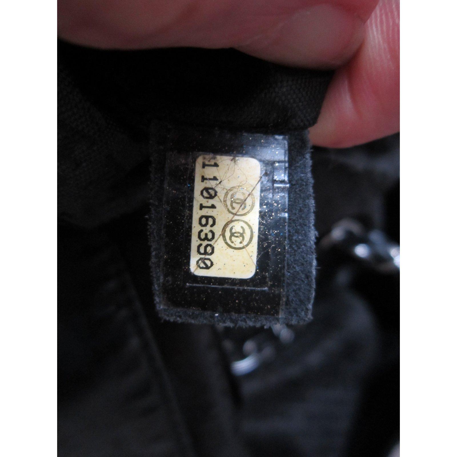 6bbc9c07d4 Sacs à main Chanel coco cabas Toile Noir ref.41040 - Joli Closet