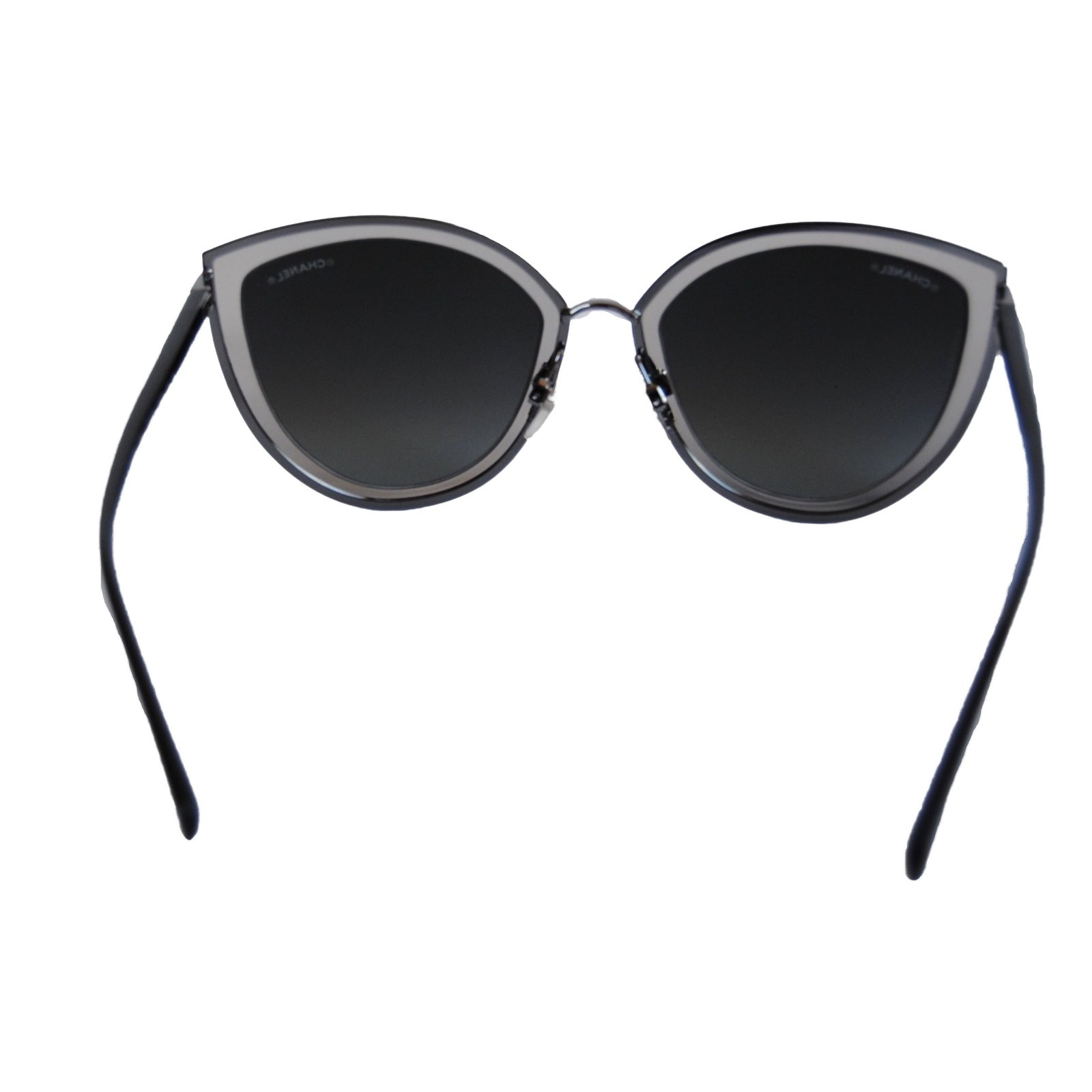 6473054bad Chanel Summer cat eye sunglasses Sunglasses Metal Silvery ref.41125 - Joli  Closet