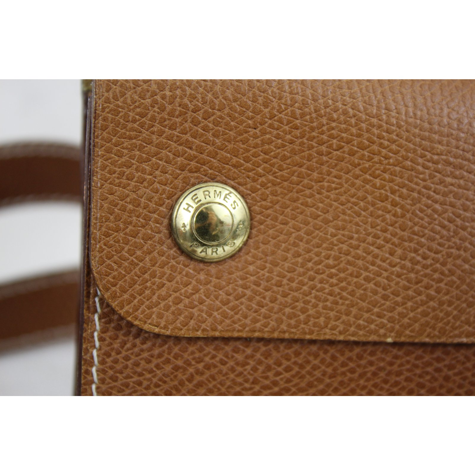 cbf3ae3bb43 Petite maroquinerie Hermès Sac Ceinture Cuir Marron ref.41600 - Joli Closet