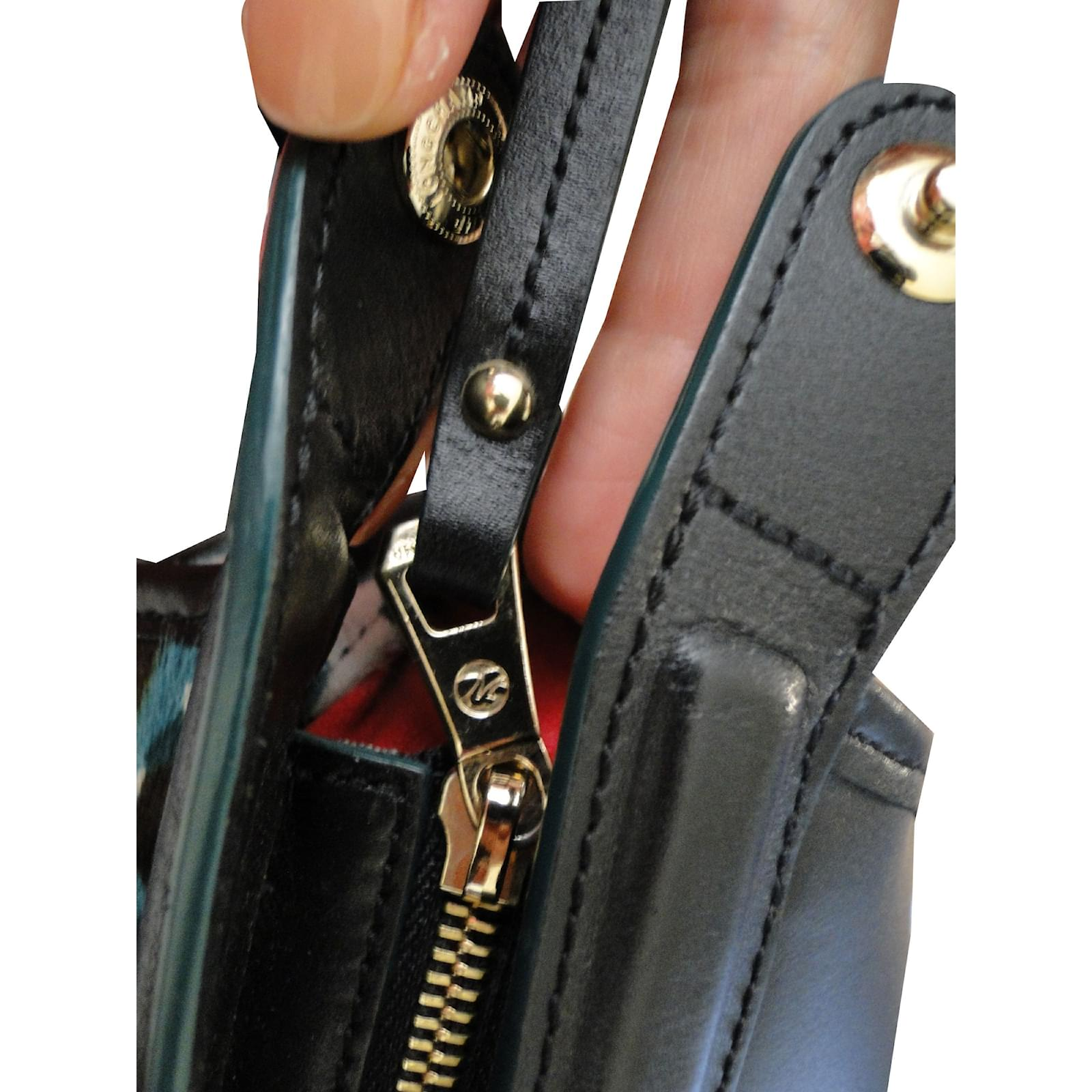 2b270734247d Longchamp LE PLIAGE HERITAGE Handbags Pony-style calfskin Black ref.41949 -  Joli Closet