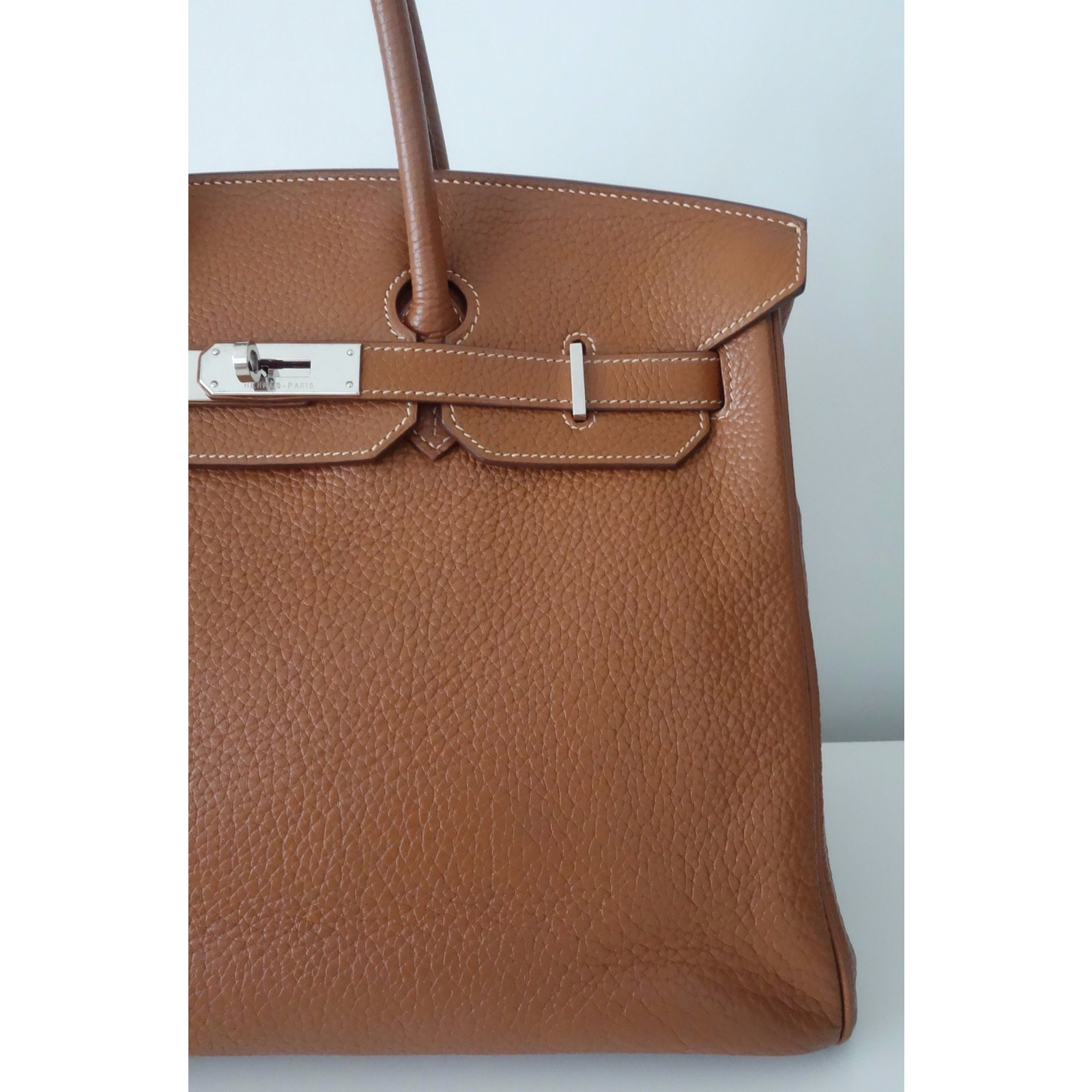 18a79b37b92a shopping hermès hermes birkin gold 35 handbags leather other ref.41994 joli  closet ba303 0cad2