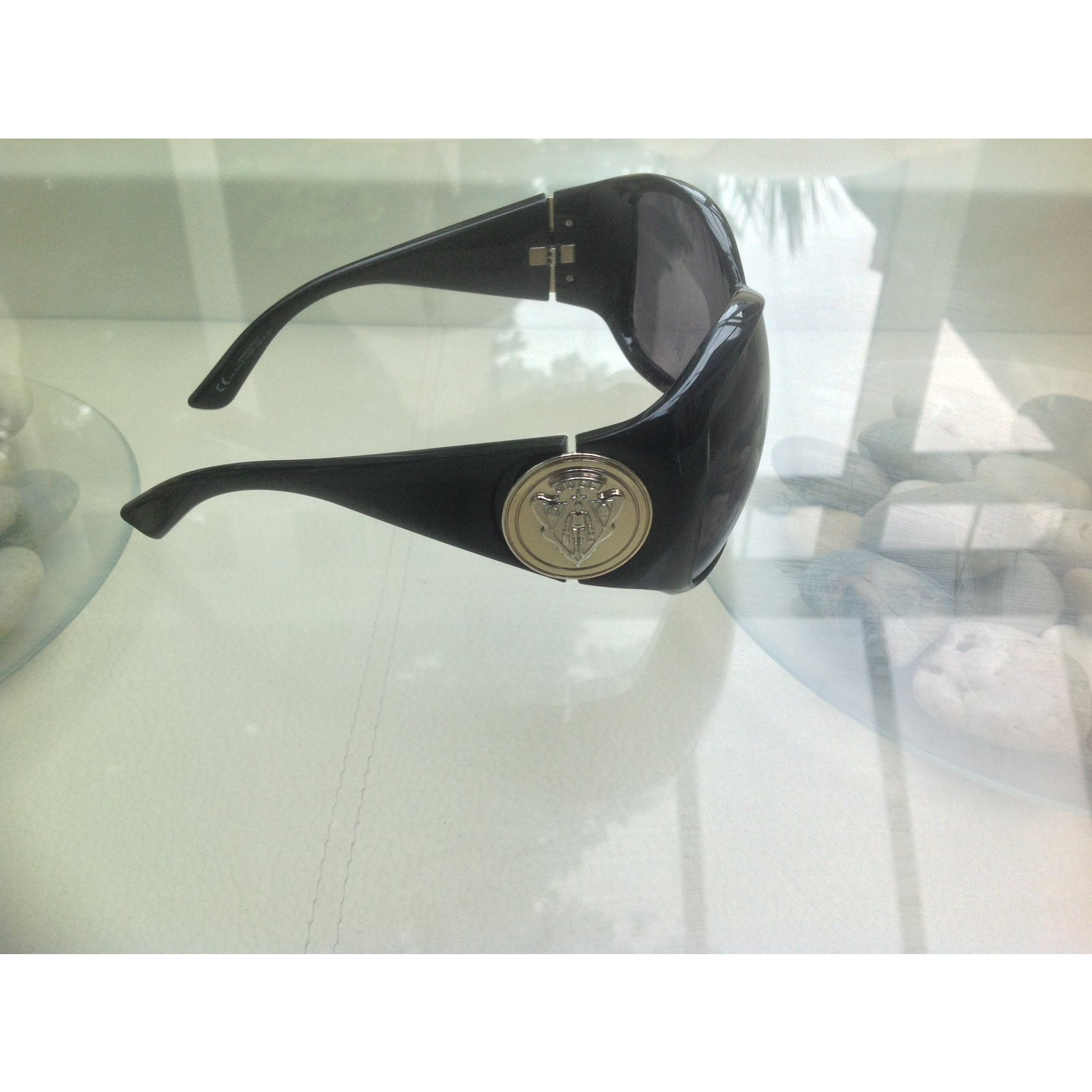 3542a7a7fab Gucci Sunglasses Sunglasses Plastic Blue ref.42679 - Joli Closet