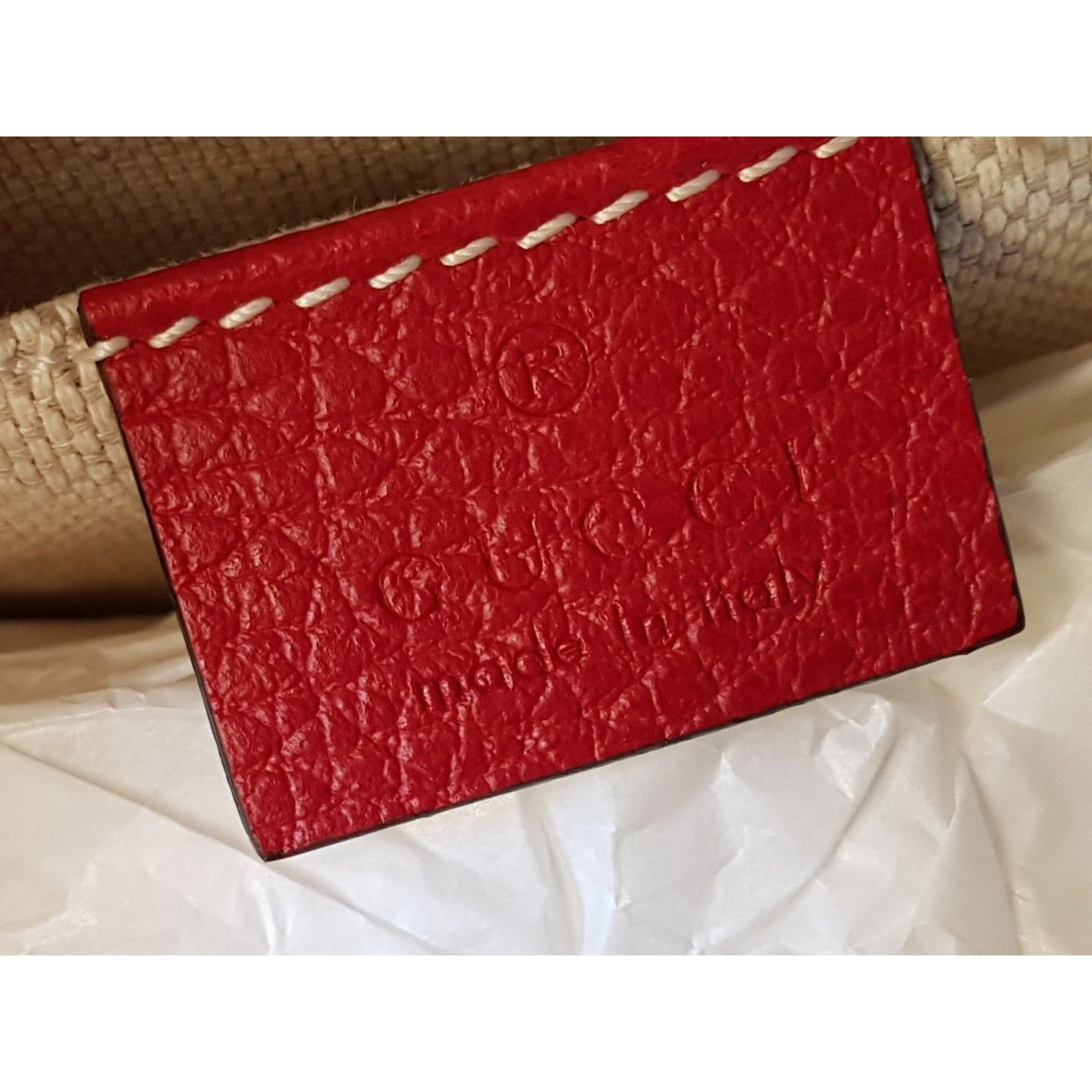 d184c4ca4f19e Gucci gucci disco bag soho double color red  fucsia new no used with receipt  Handbags Leather Multiple colors ref.43085 - Joli Closet