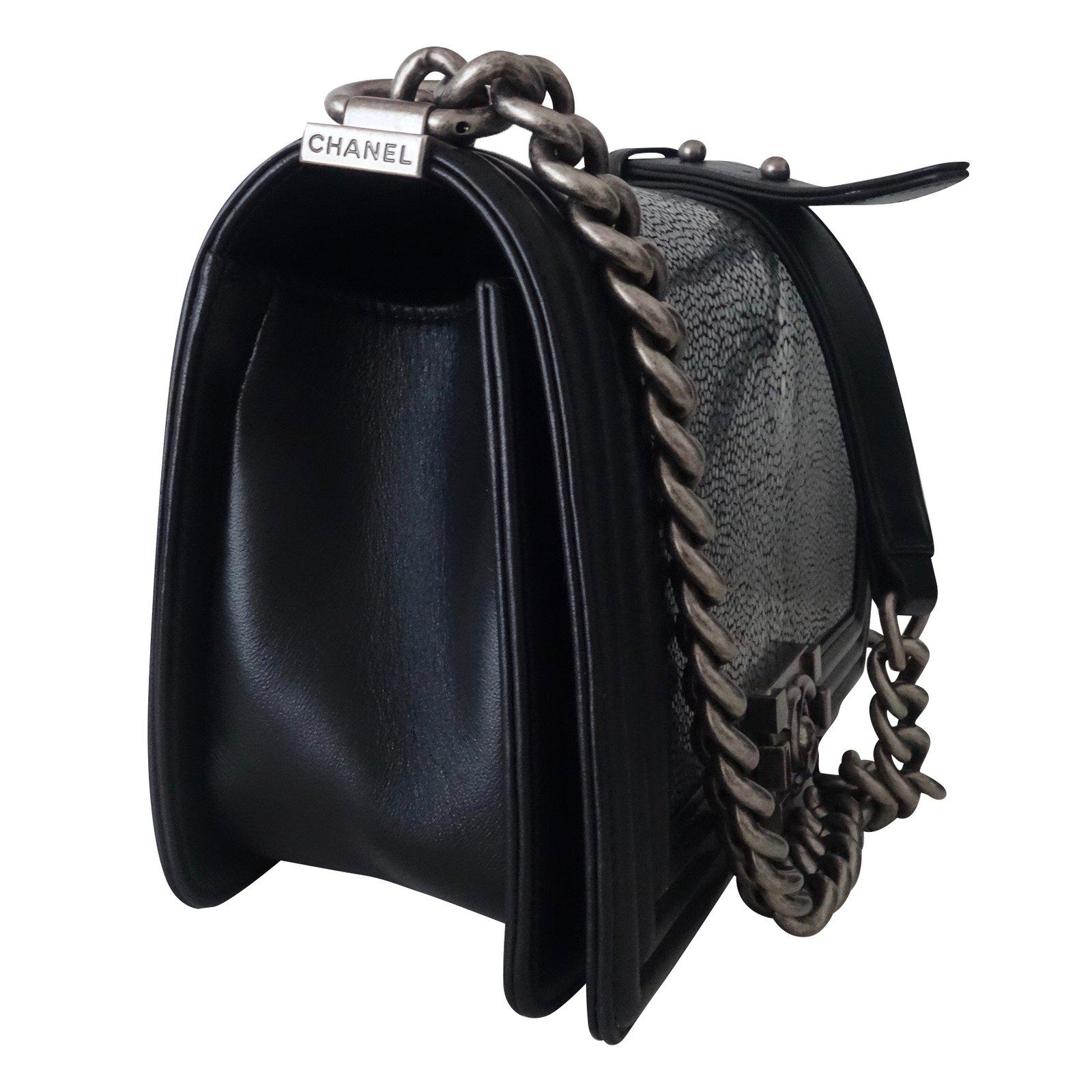31c5984917ca1c Chanel BOY GALUCHAT Handbags Exotic leather Multiple colors ref.43092 - Joli  Closet