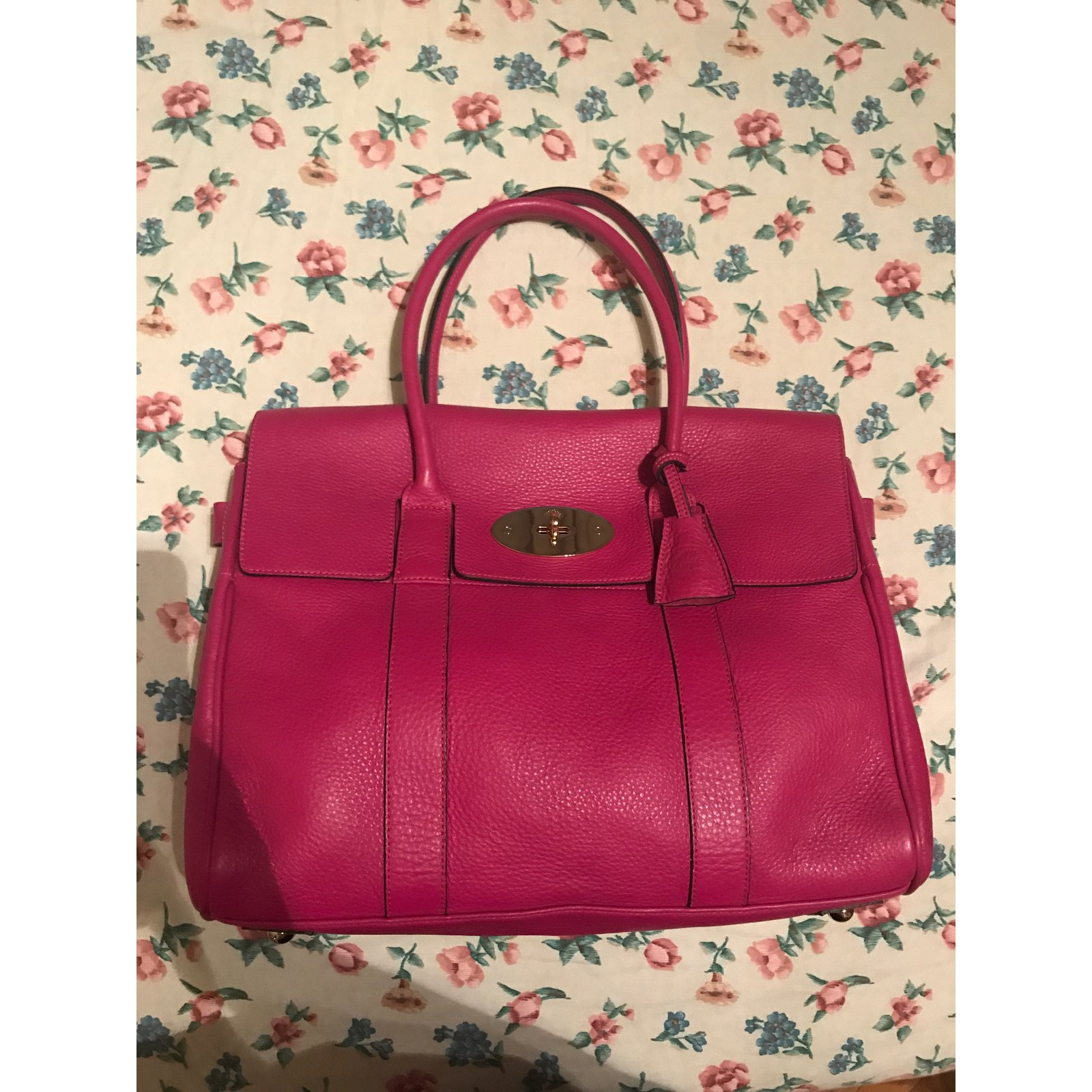 Facebook · Pin This. Mulberry Handbags Handbags Leather Pink ref.43264 06338a56a61eb