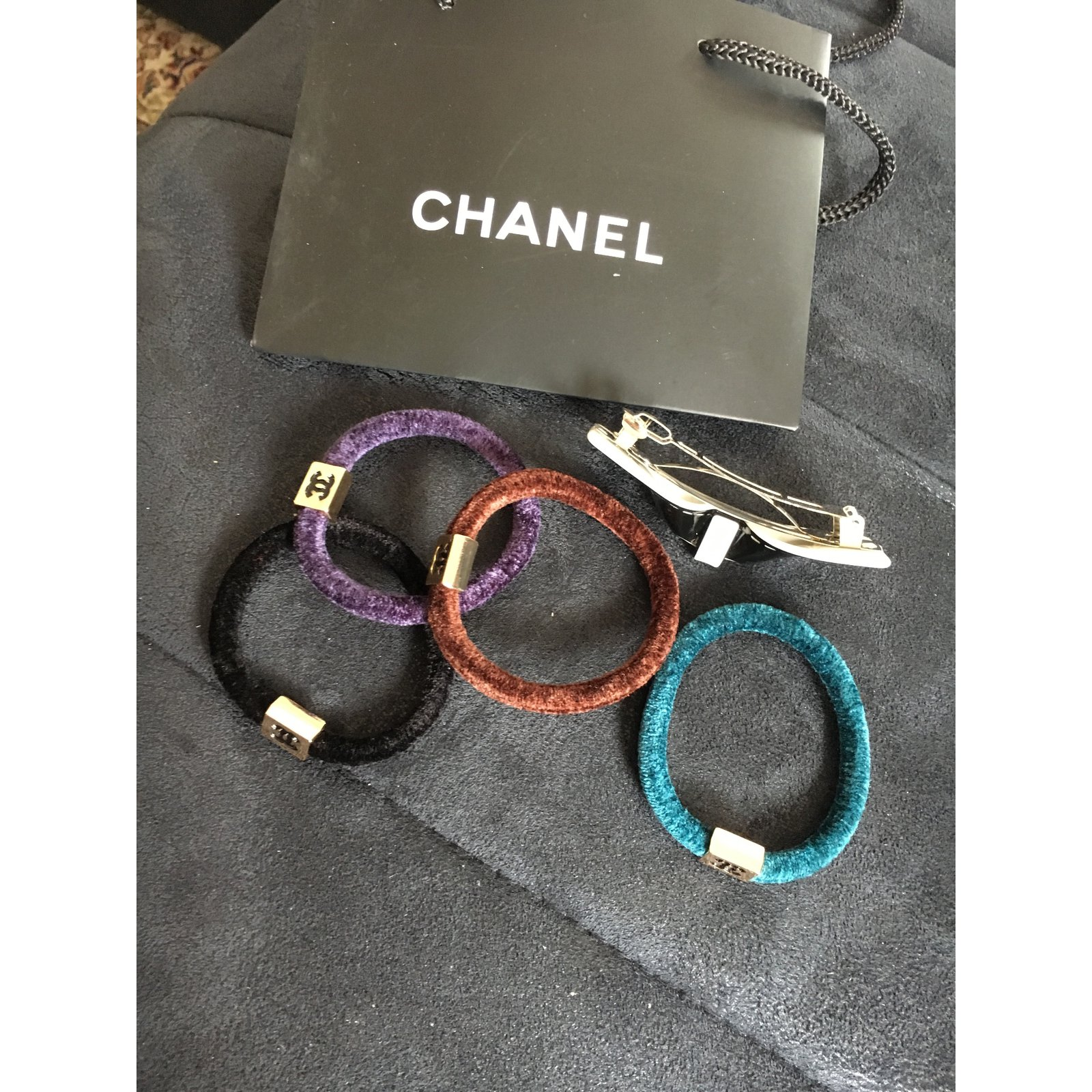 684bfbd7f7 Chanel Hair accessories VIP gifts Cashmere Multiple colors ref.43307 - Joli  Closet