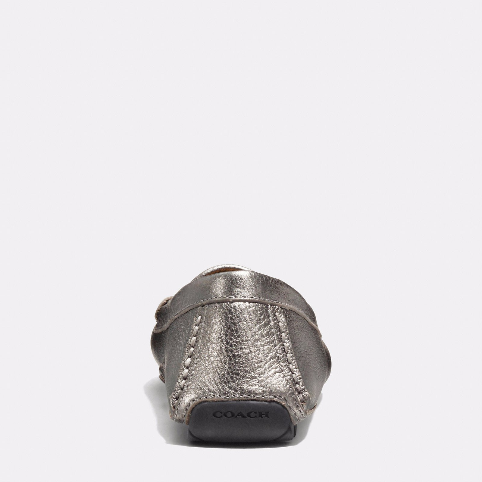 355ce2432 Coach Flats Flats Leather Dark grey ref.43667 - Joli Closet