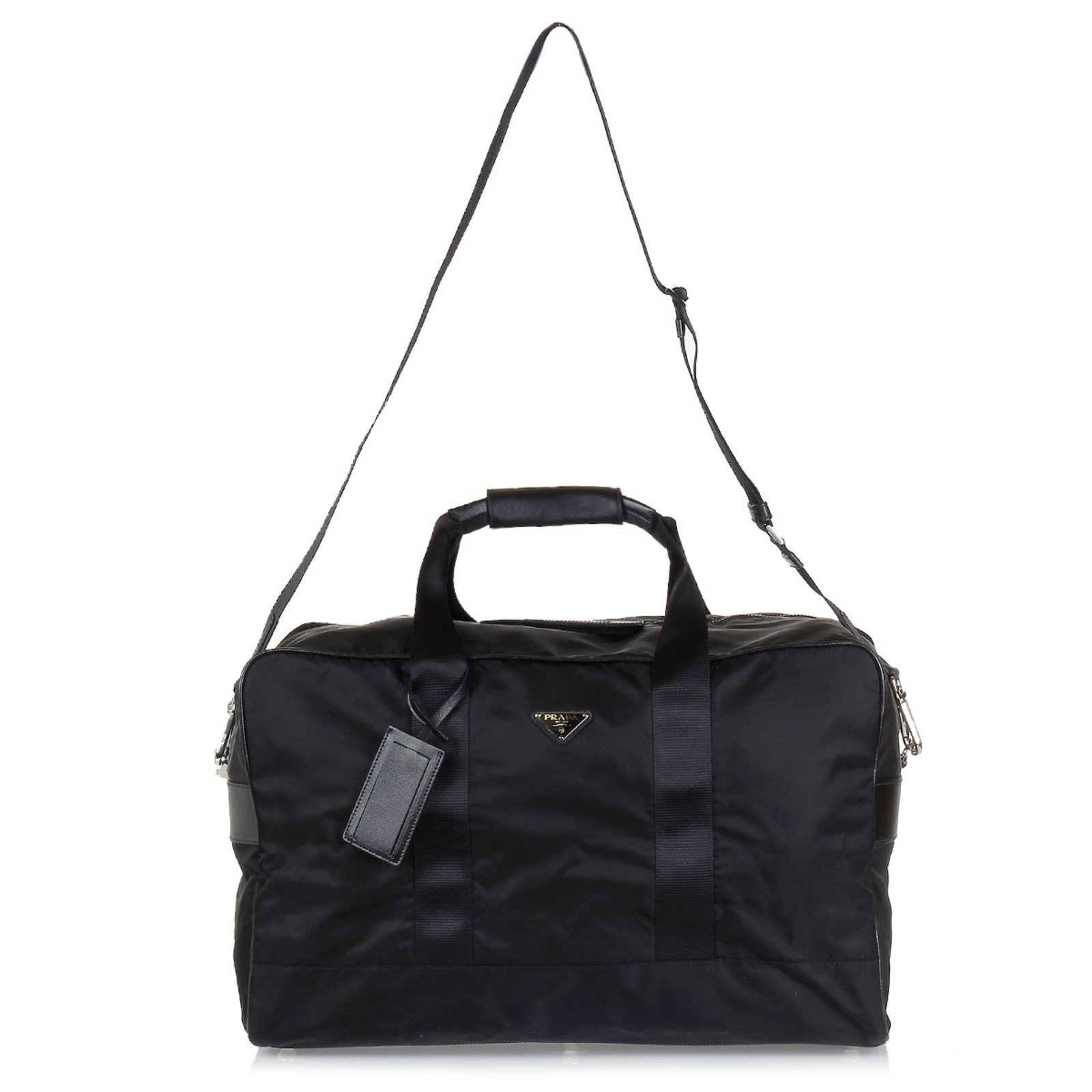 470972368050 ... france prada duffle travel bag new bags briefcases nylon black ref.43724  joli closet 15d8c
