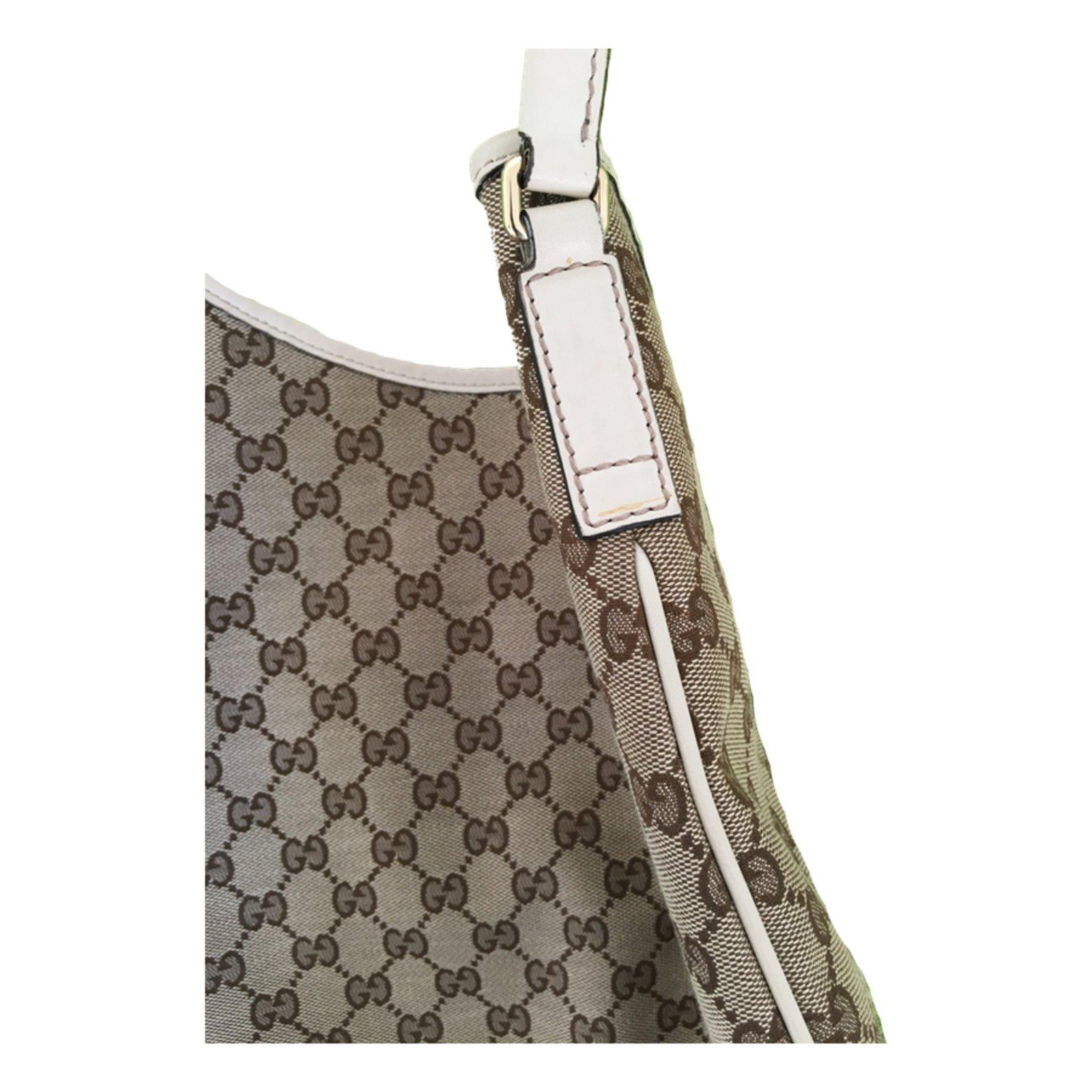 7a8483c29b44 Gucci GUCCI New Britt Hobo Bag Handbags Cloth Beige ref.43931 - Joli Closet
