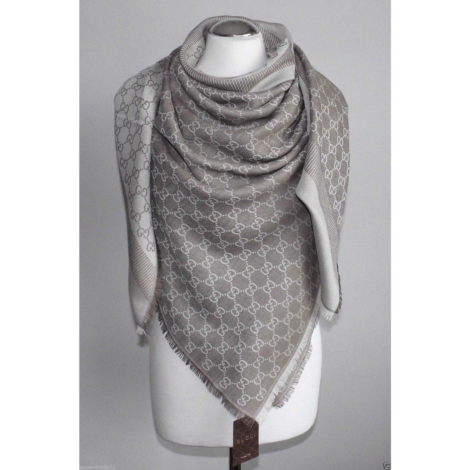 4ba27abef59d Gucci web new scarves silk wool multiple colors ref joli closet jpg  1600x1600 Gucci scarves