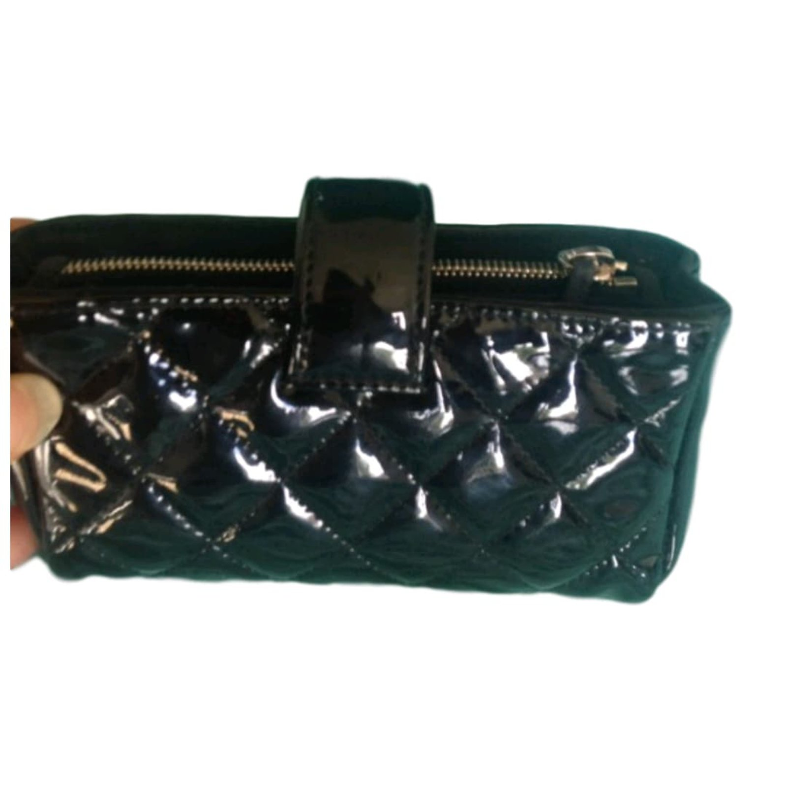 36b0beb8ca7c Chanel Coin purse Purses, wallets, cases Patent leather Black ref ...