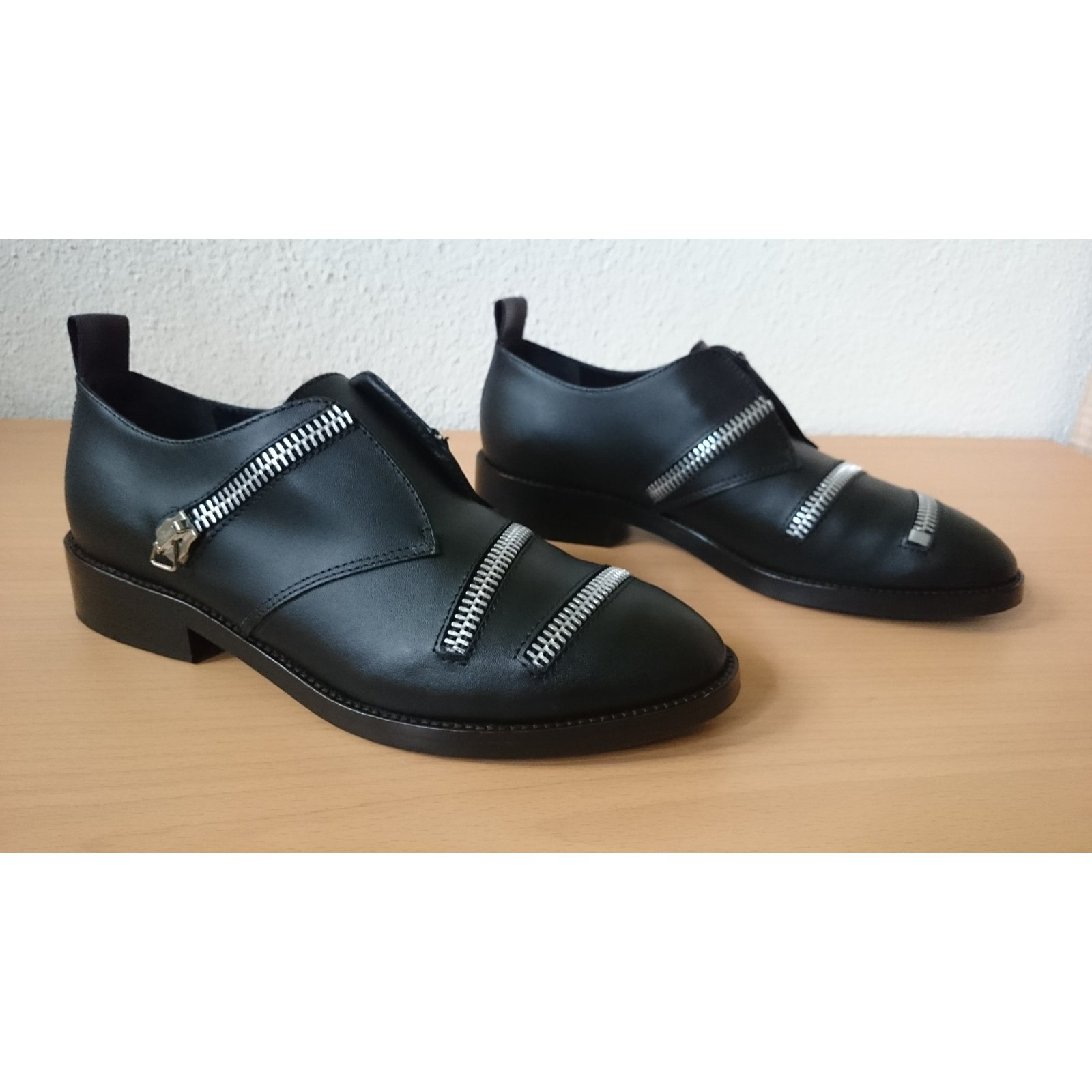 94fc47ab81ea Facebook · Pin This. Golden Goose Loafers Flats Leather Black ref.46042