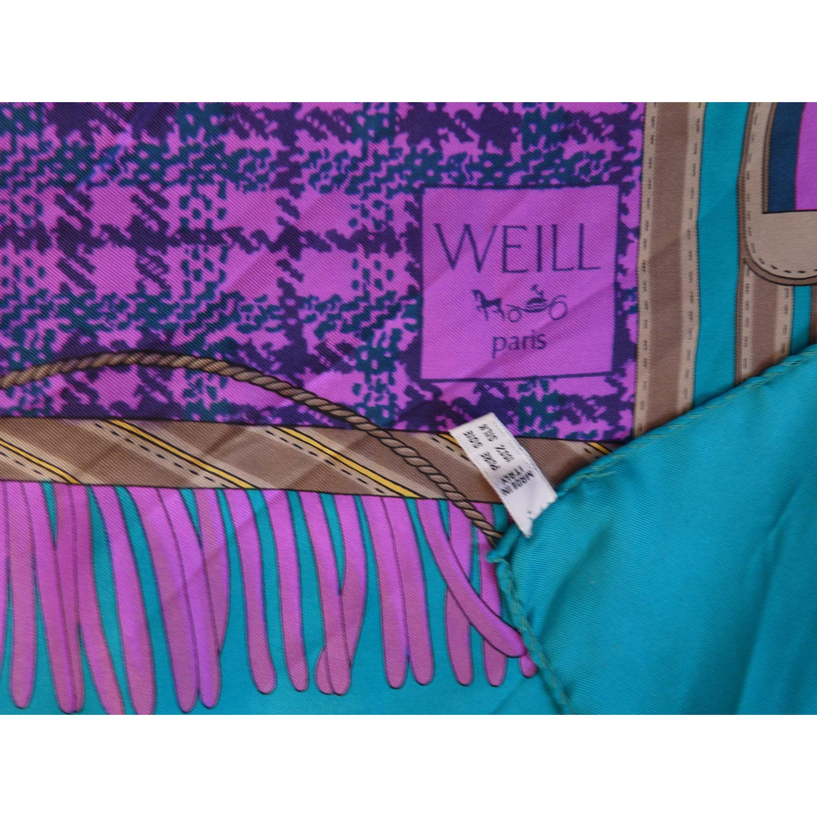 907a437a86ea Foulards Weill Foulards Soie Multicolore ref.46262 - Joli Closet