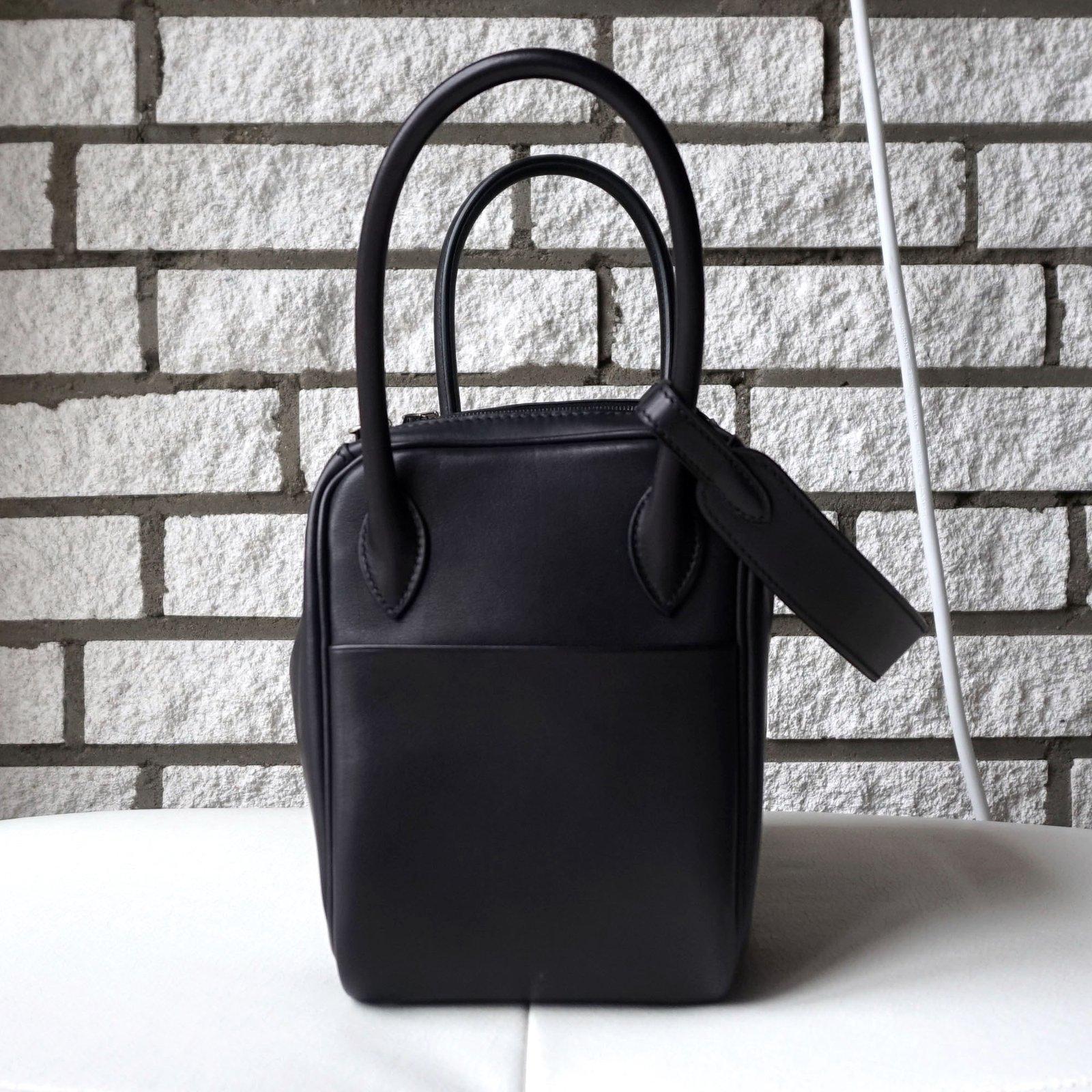 669f0b948975 ... clearance hermès lindy 26 handbags leather black ref.46305 joli closet  6aa18 eb6c9